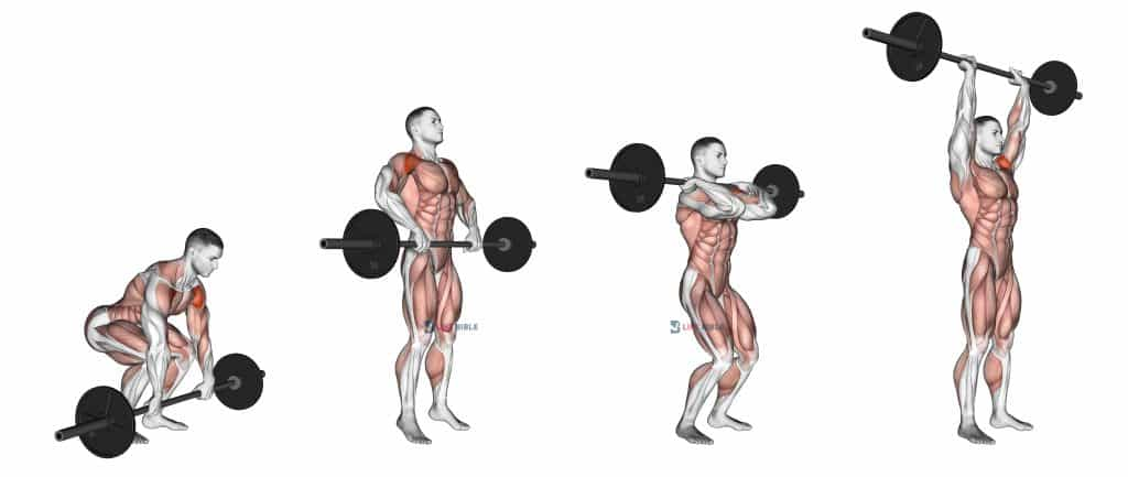 Barbell Clean and Press Exercise Guide
