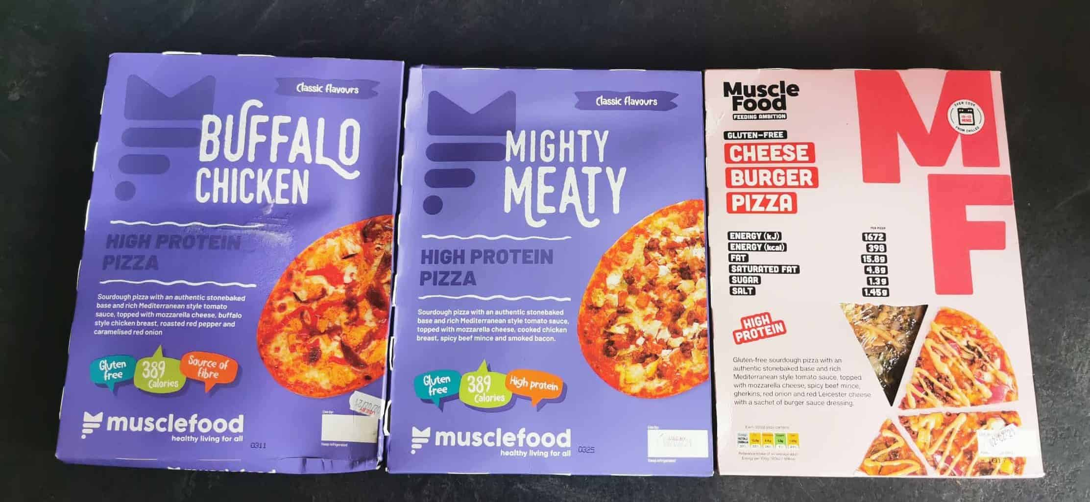 MuscleFood Review Pizza