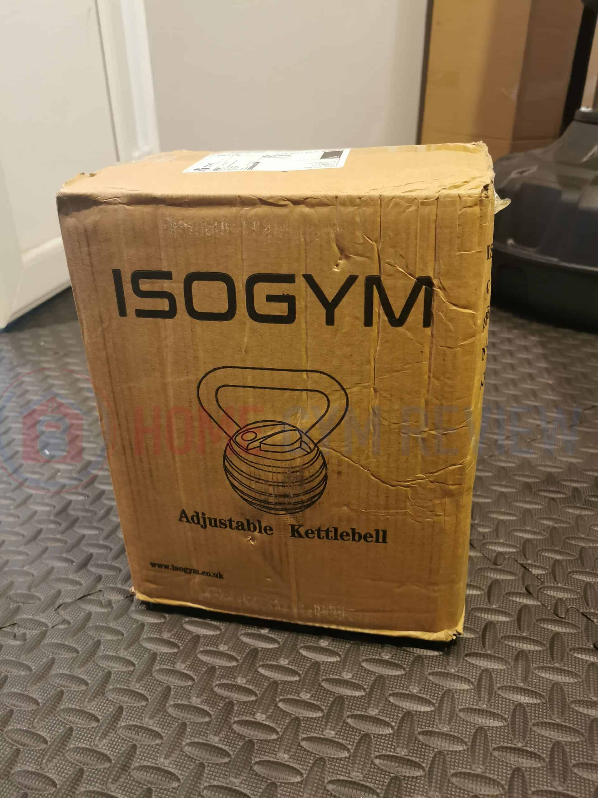 UNBOXING MY ADJUSTABLE KETTLEBELL