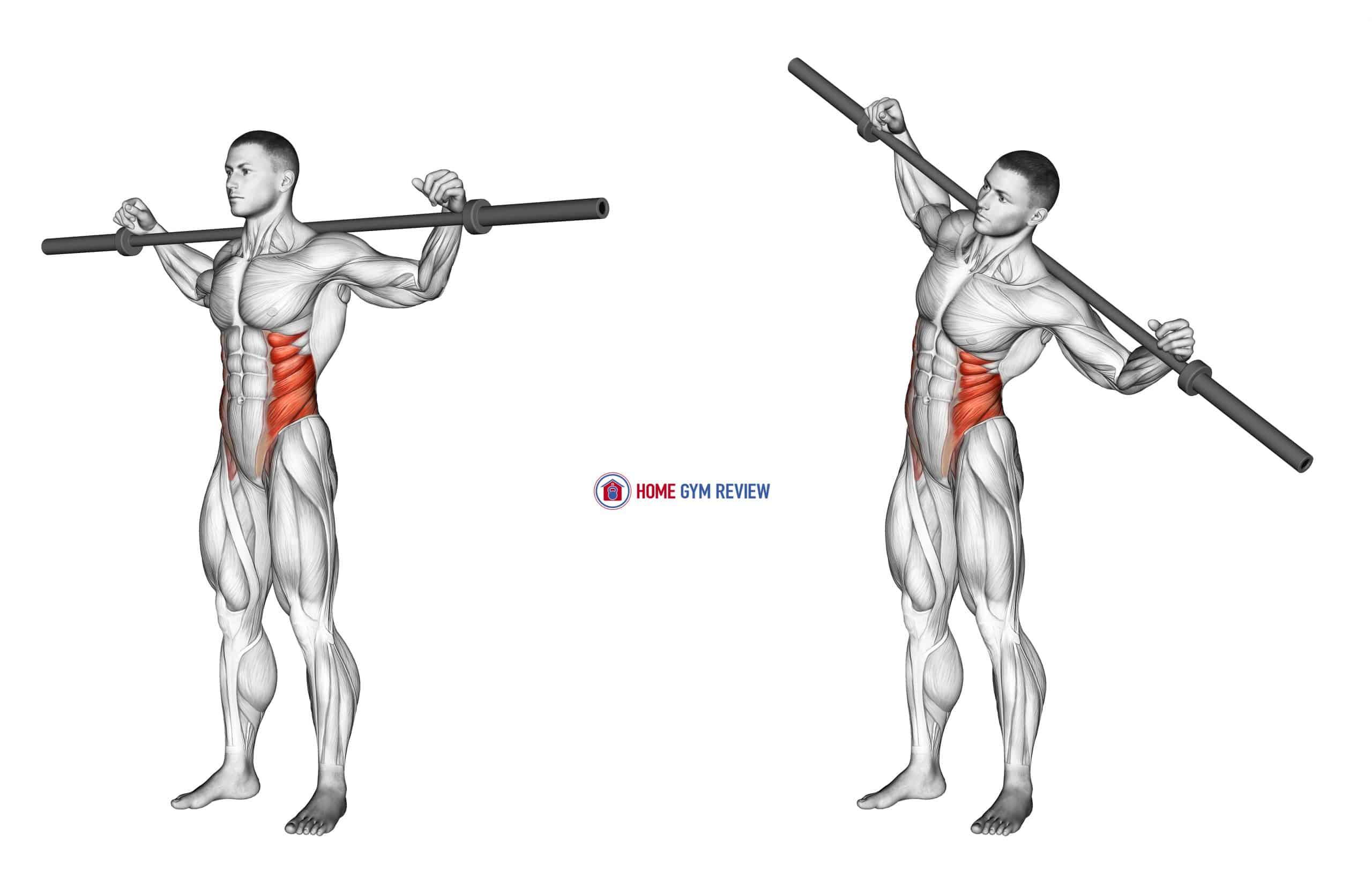Barbell Side Bent (version 2)