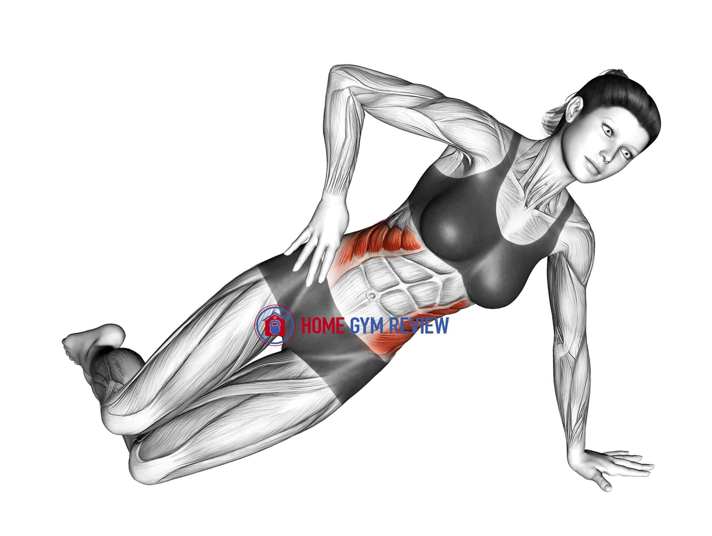 Bent-Knee Side Plank