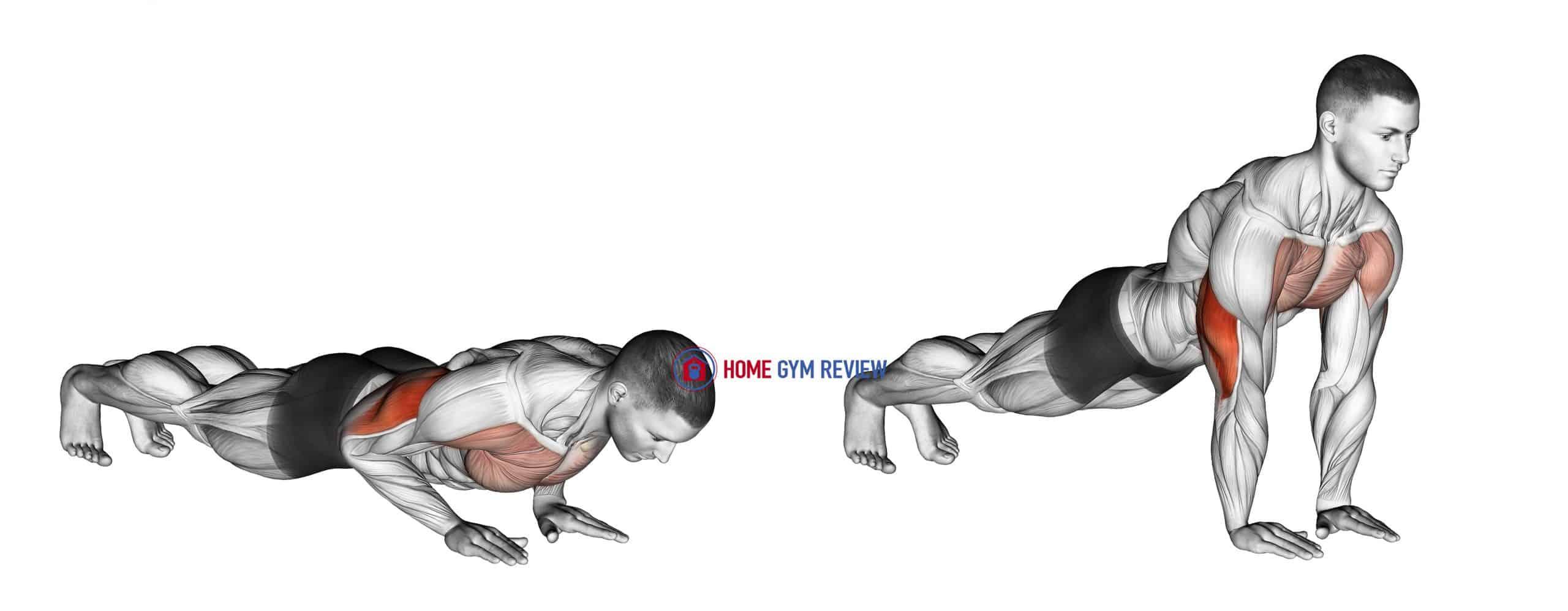 Close-grip Push-up
