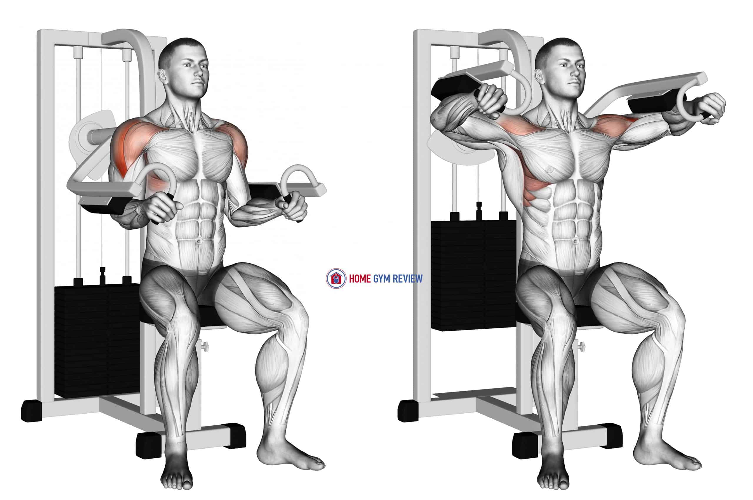 Lever Lateral Raise