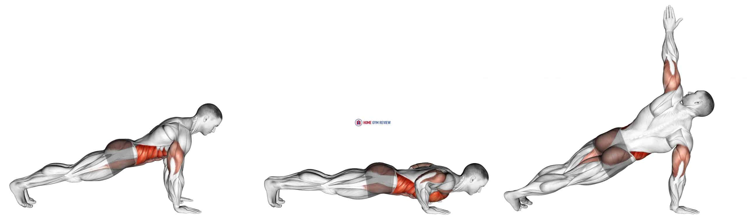 Push-Up to Side Plank