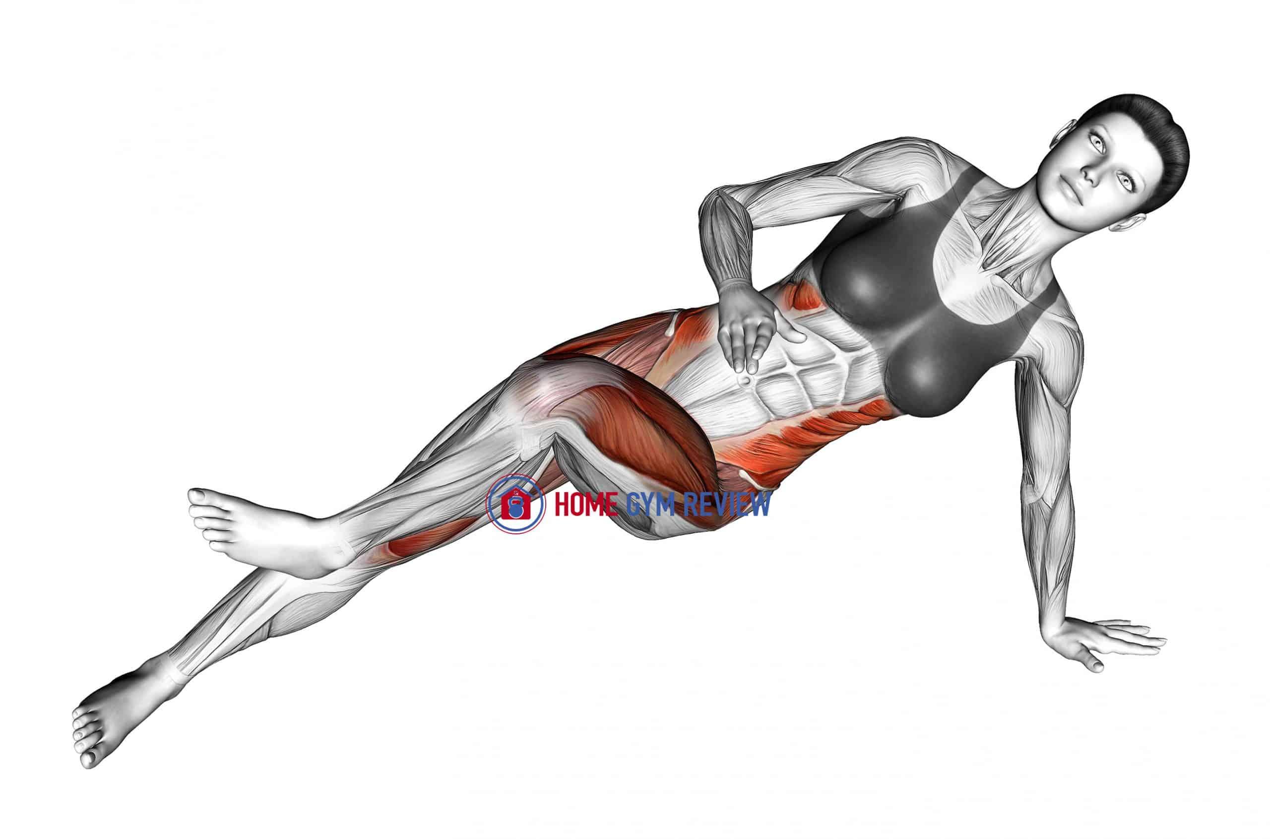 Side Bridge (bent knee)