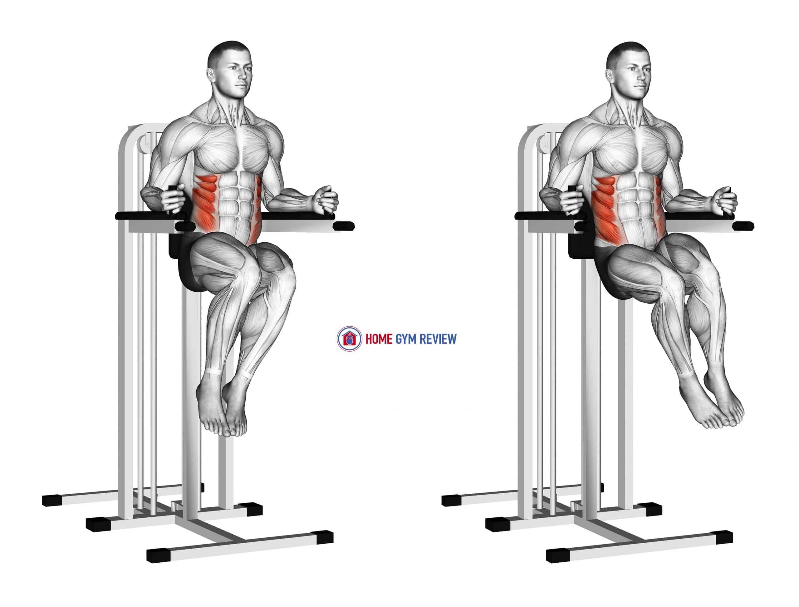 Side Hip (on parallel bars)