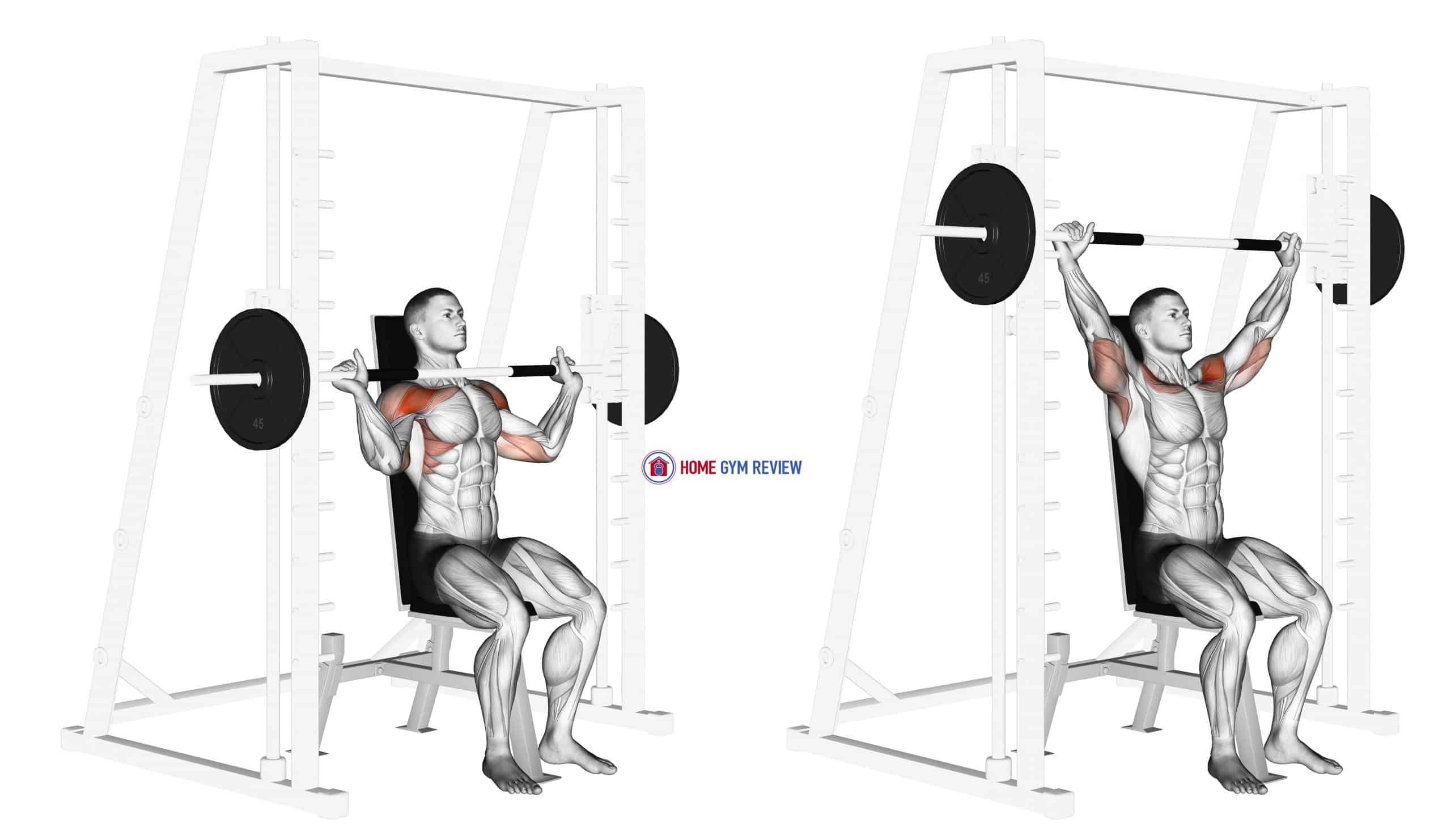Smith Shoulder Press
