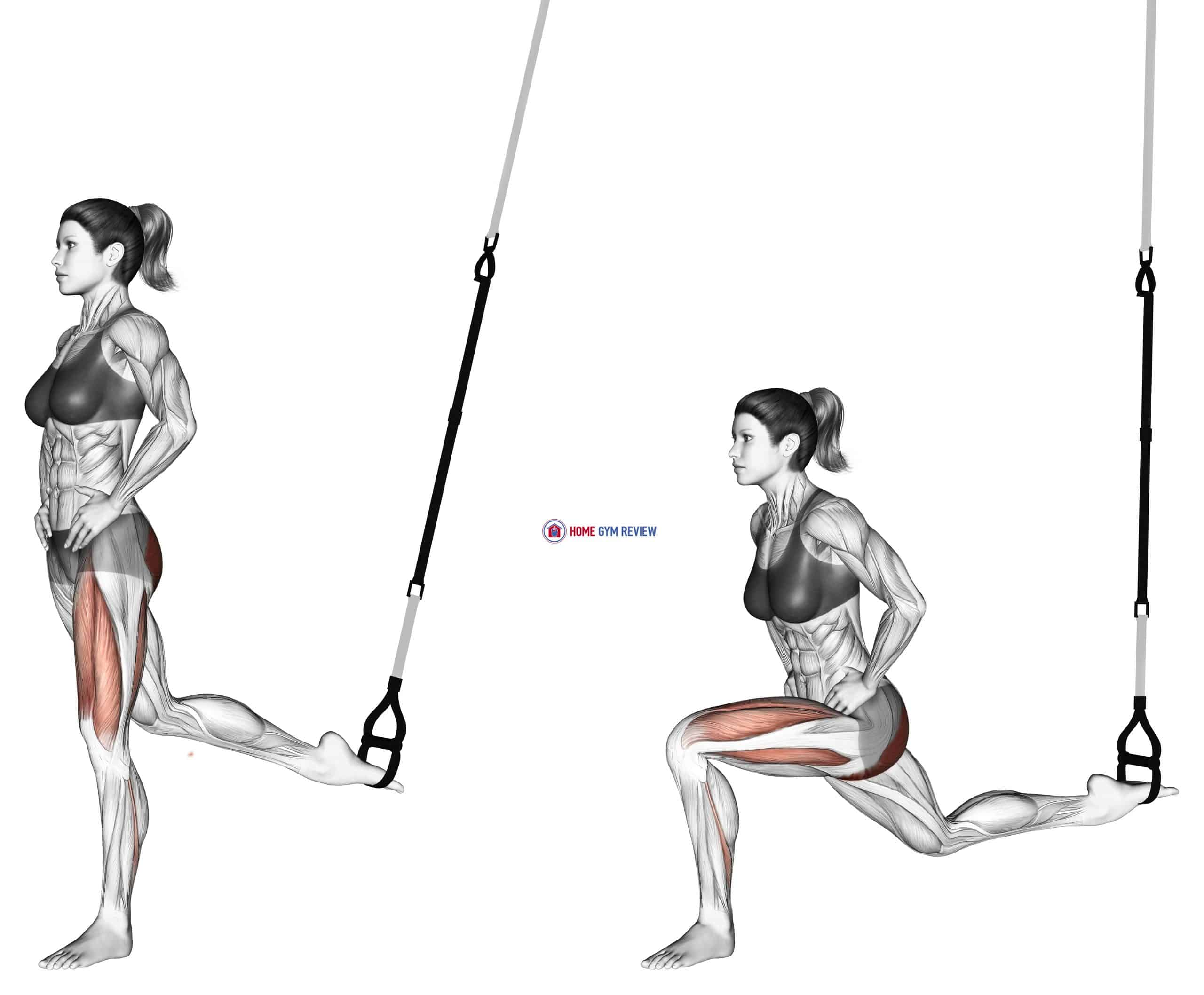 Suspension Single Leg Split Squat
