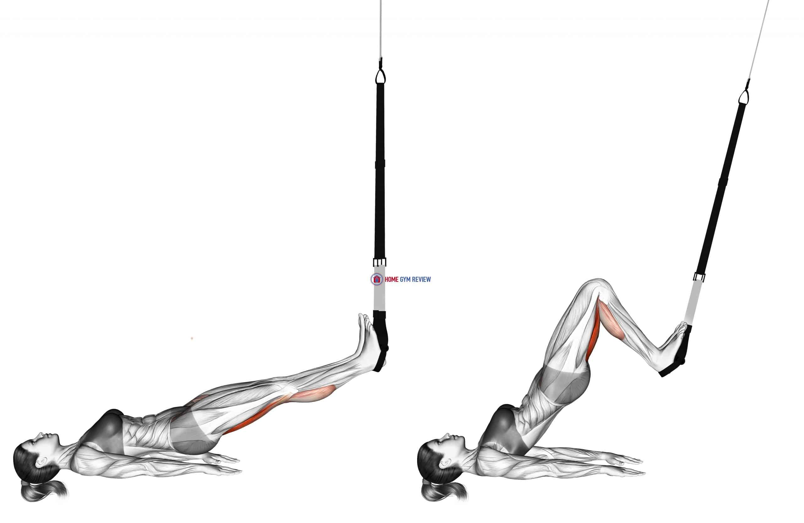 Suspension Single Leg Squat