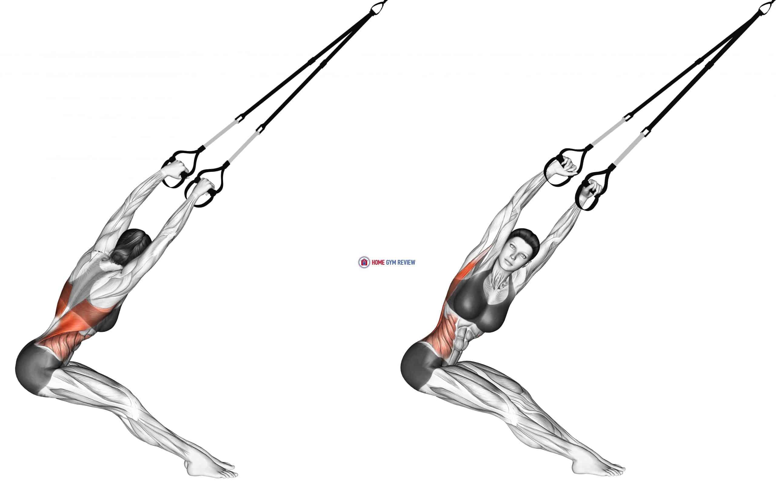 Suspension Lat Stretch