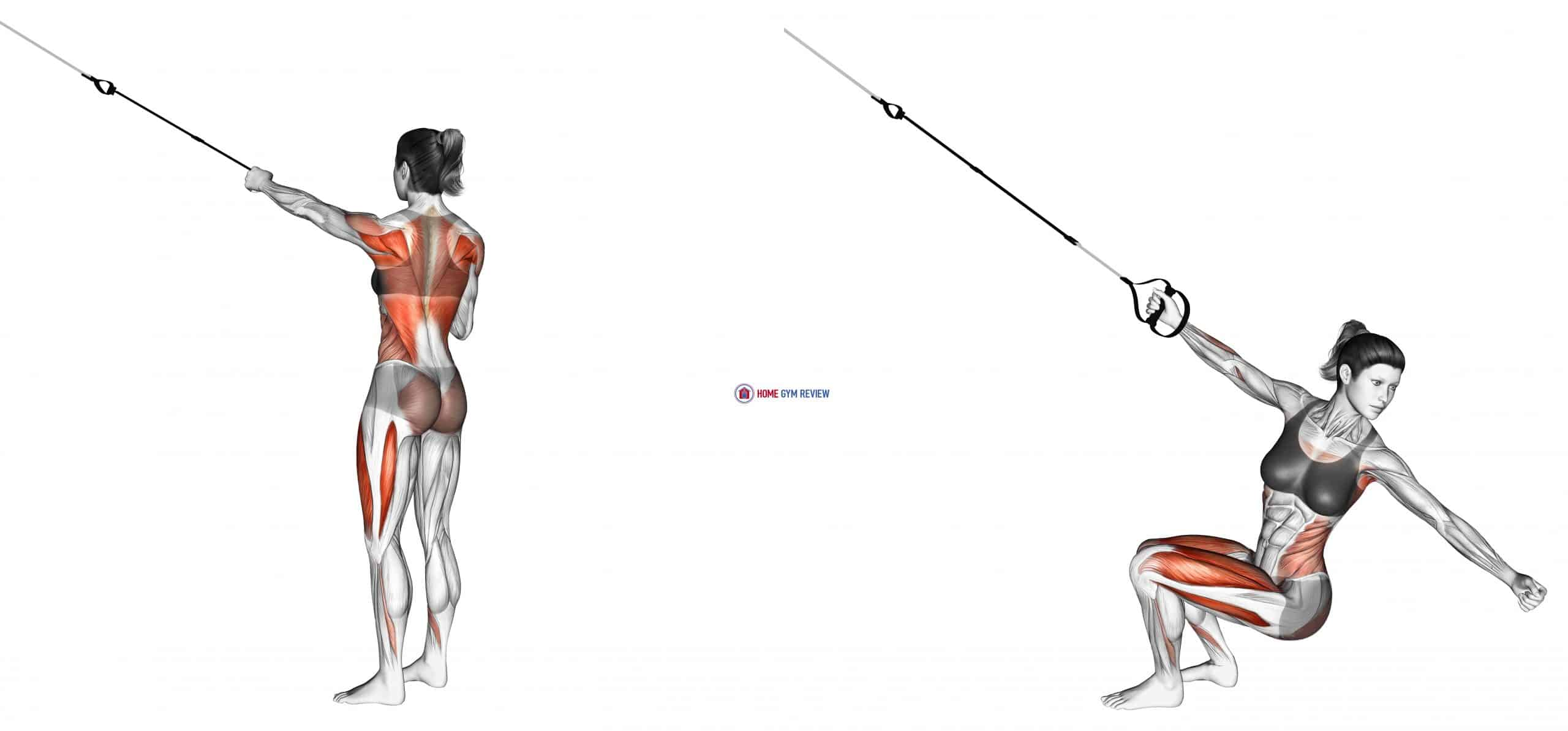 Suspension Squat Power Pull