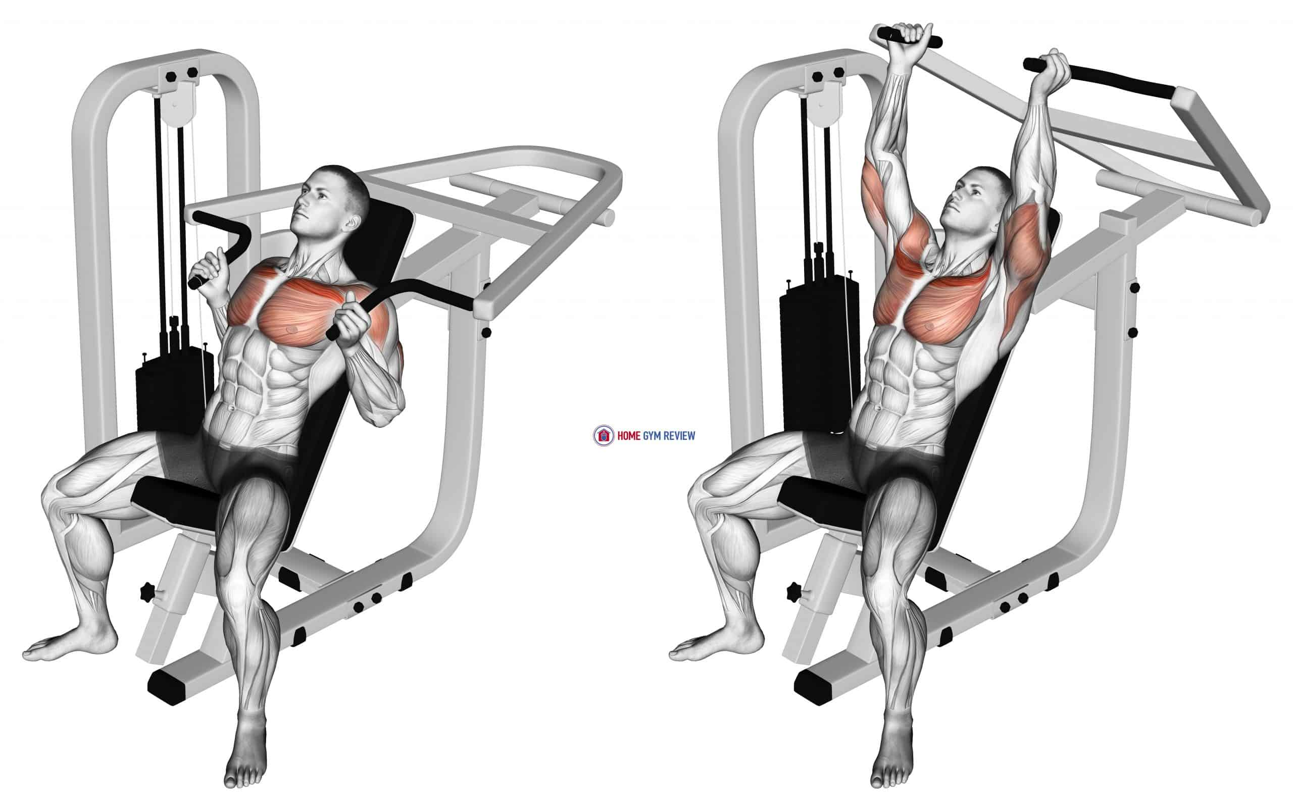Lever Incline Hammer Chest Press