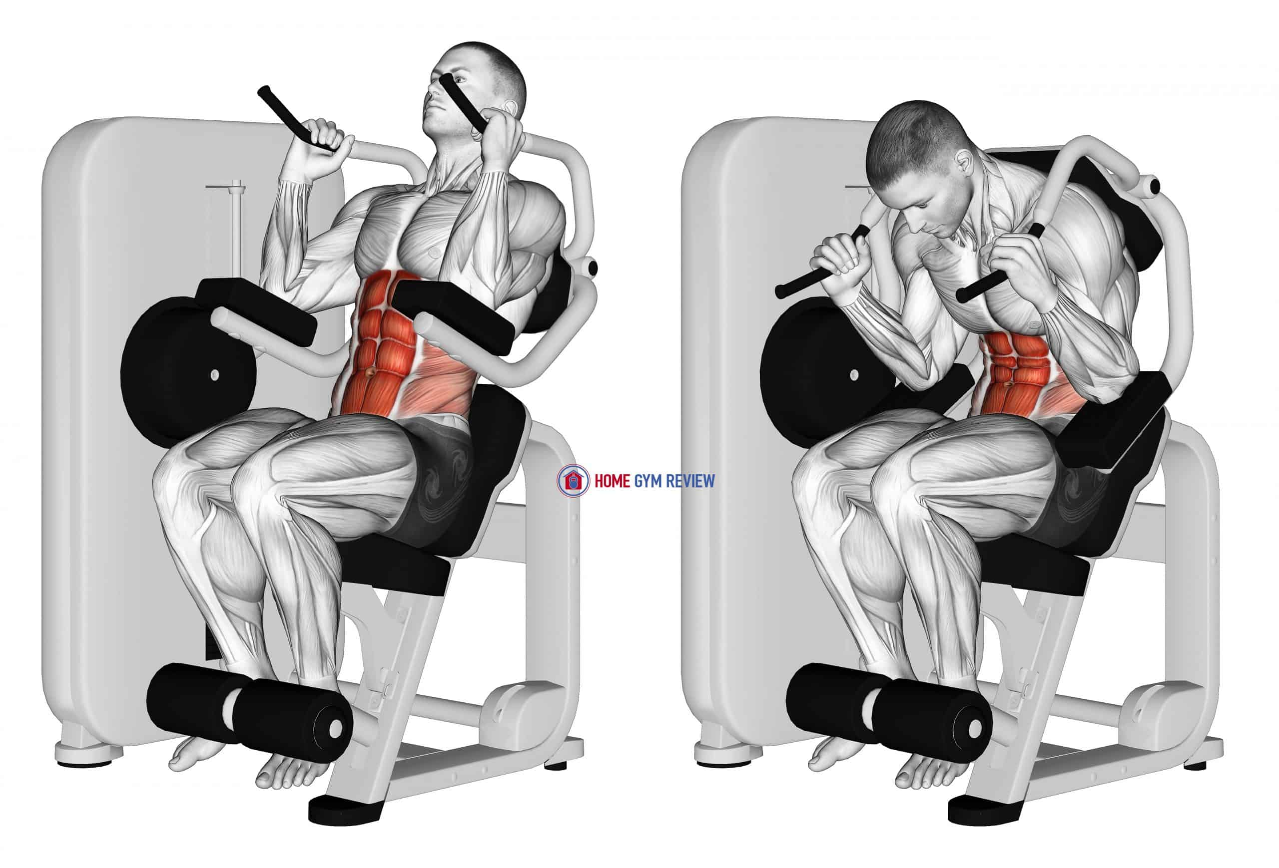Lever Seated Crunch