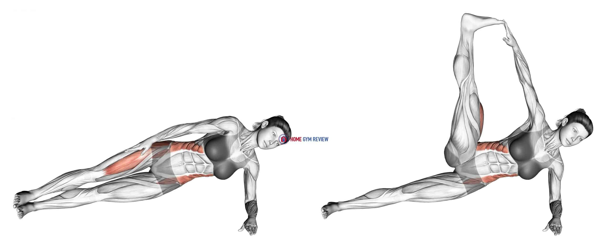 Lateral Side Plank