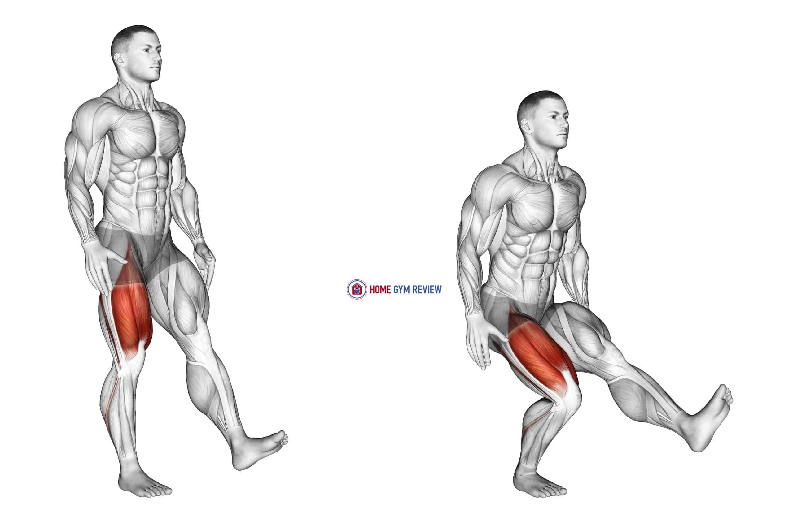 One Leg Quarter Squat