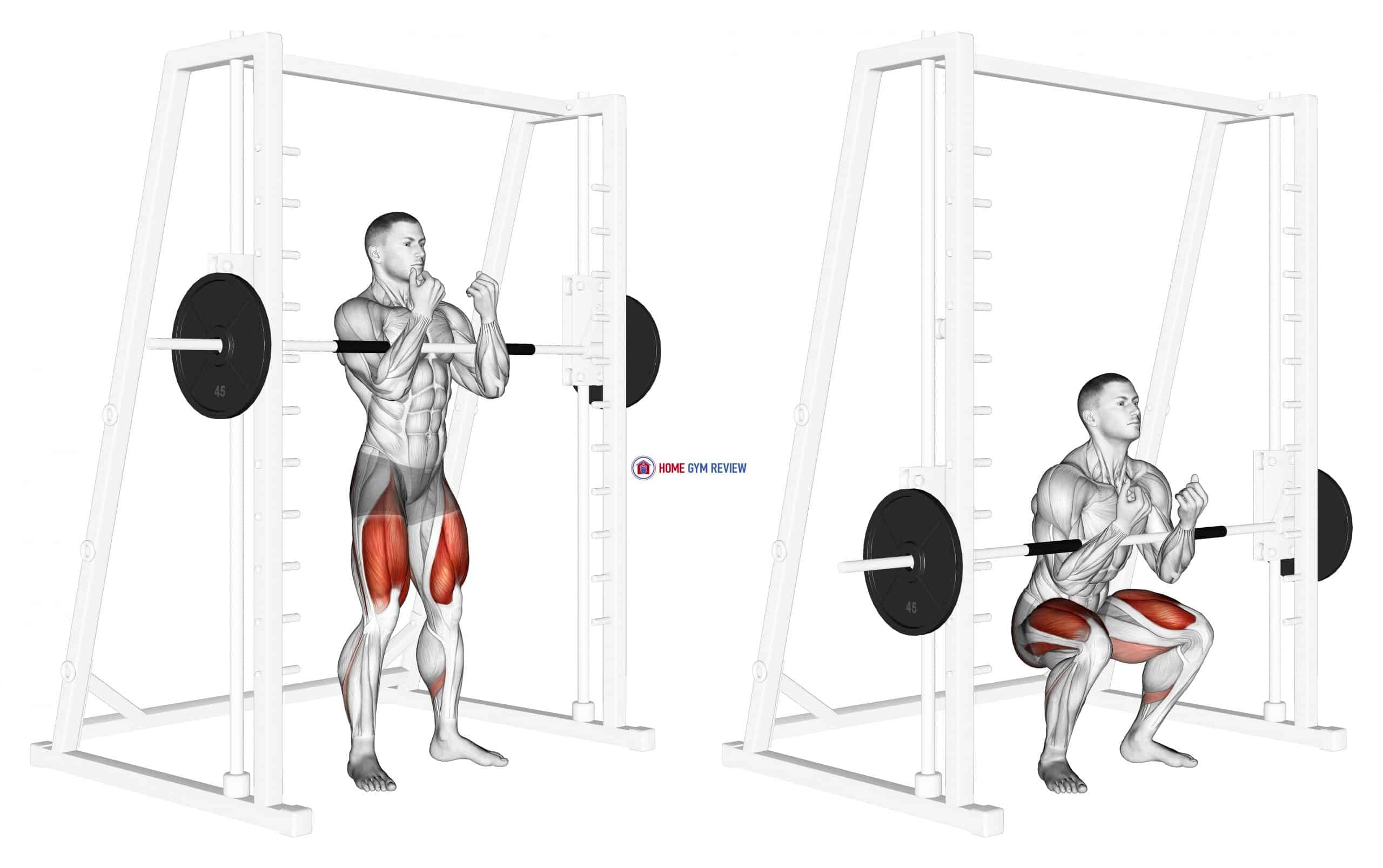 Smith Zercher Squat