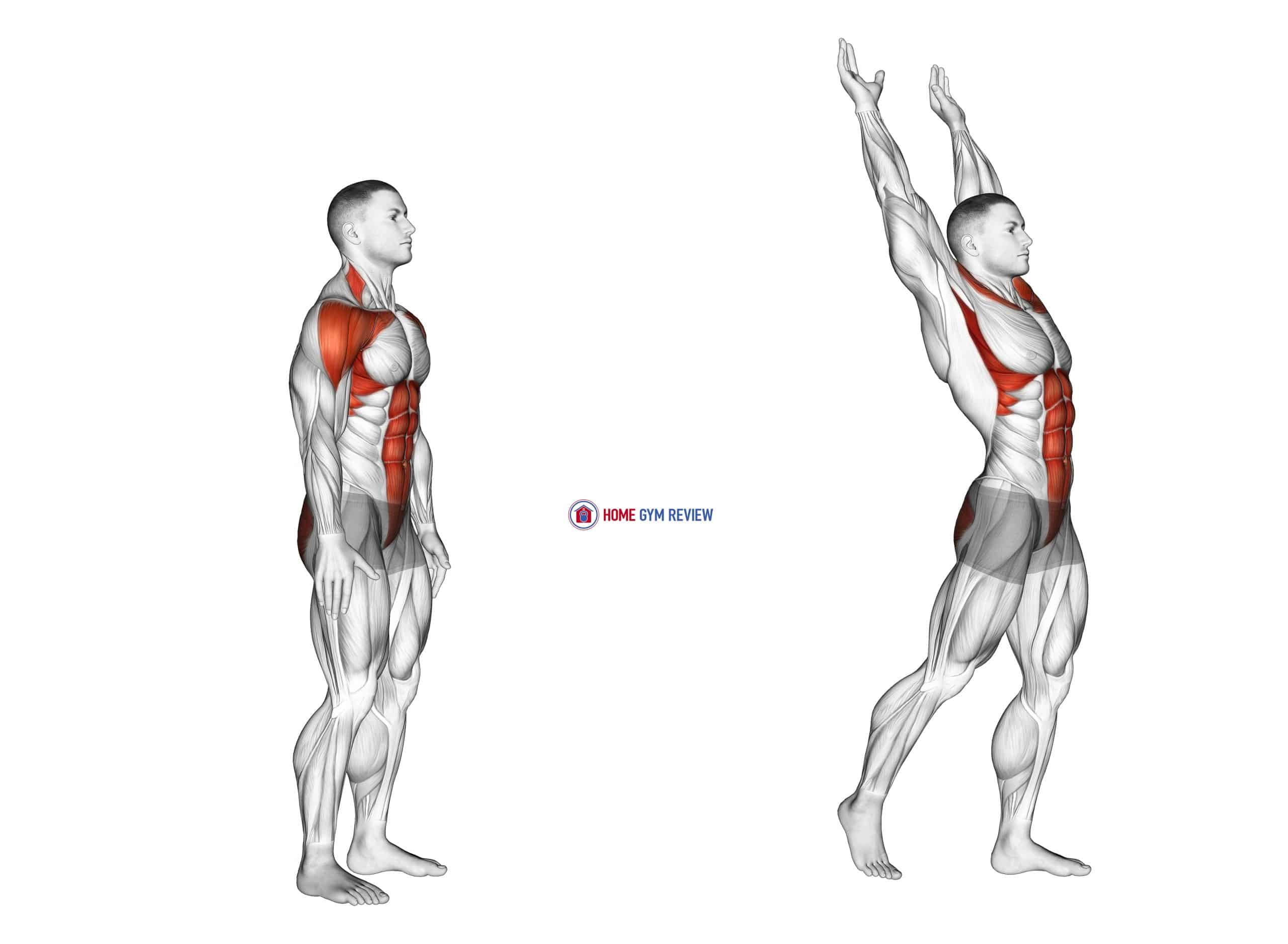 Posterior Step to Overhead Reach