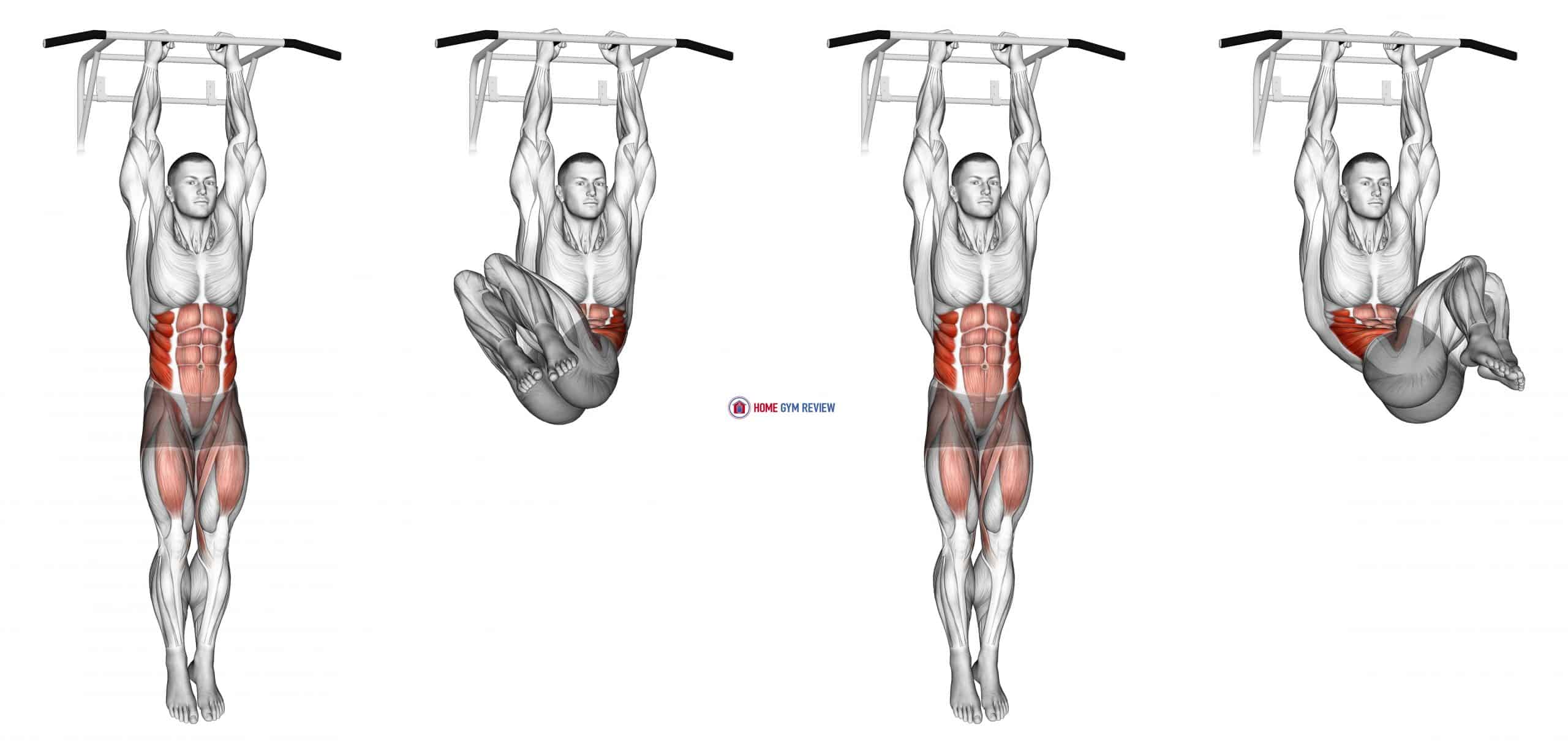 Hanging Oblique Knee Raise