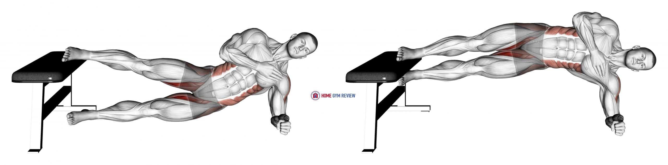 Side Plank Hip Adduction