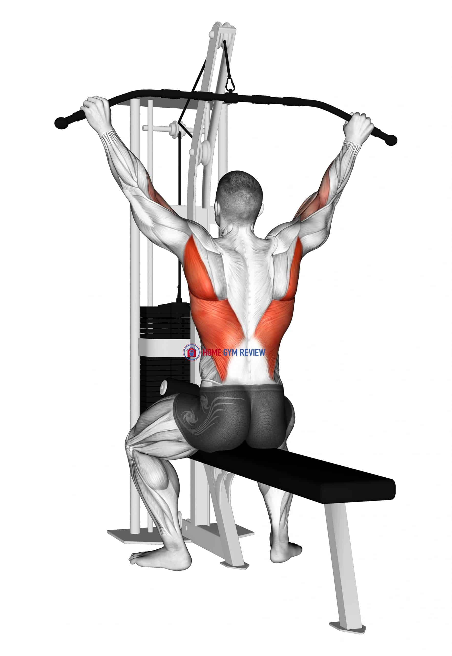 Cable Suspension Back Stretch