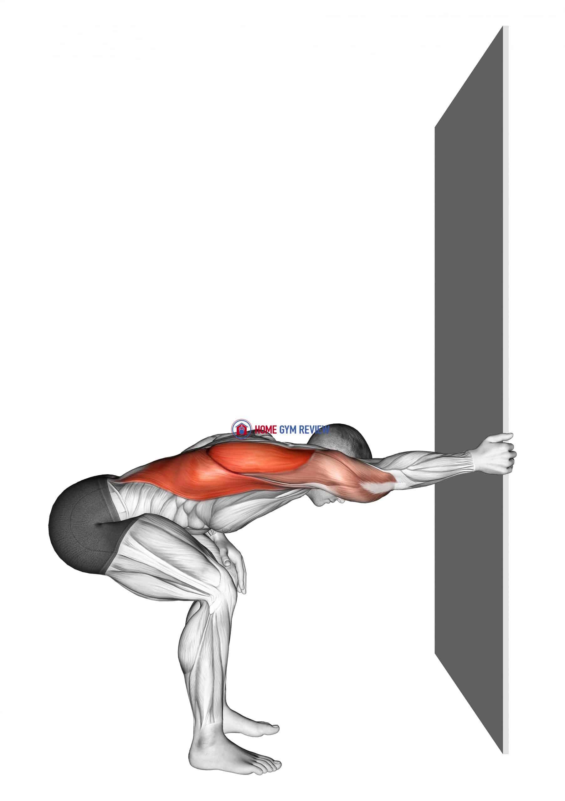 One arm Lat Stretch