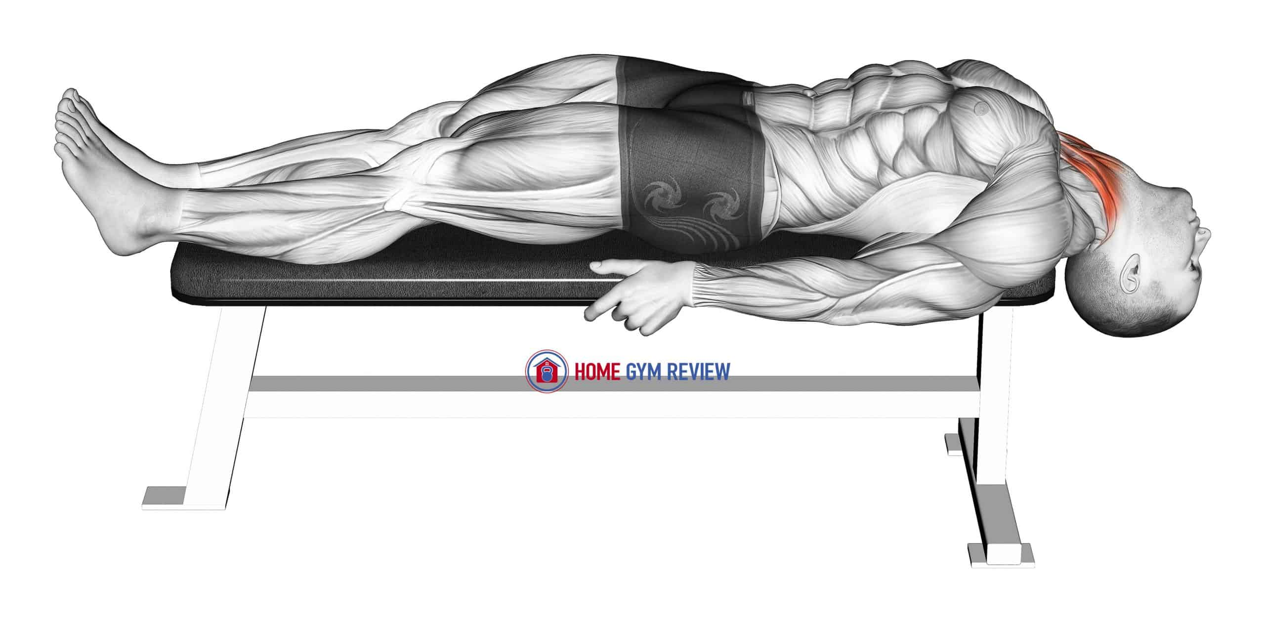 Lying Neck Extension Stretch