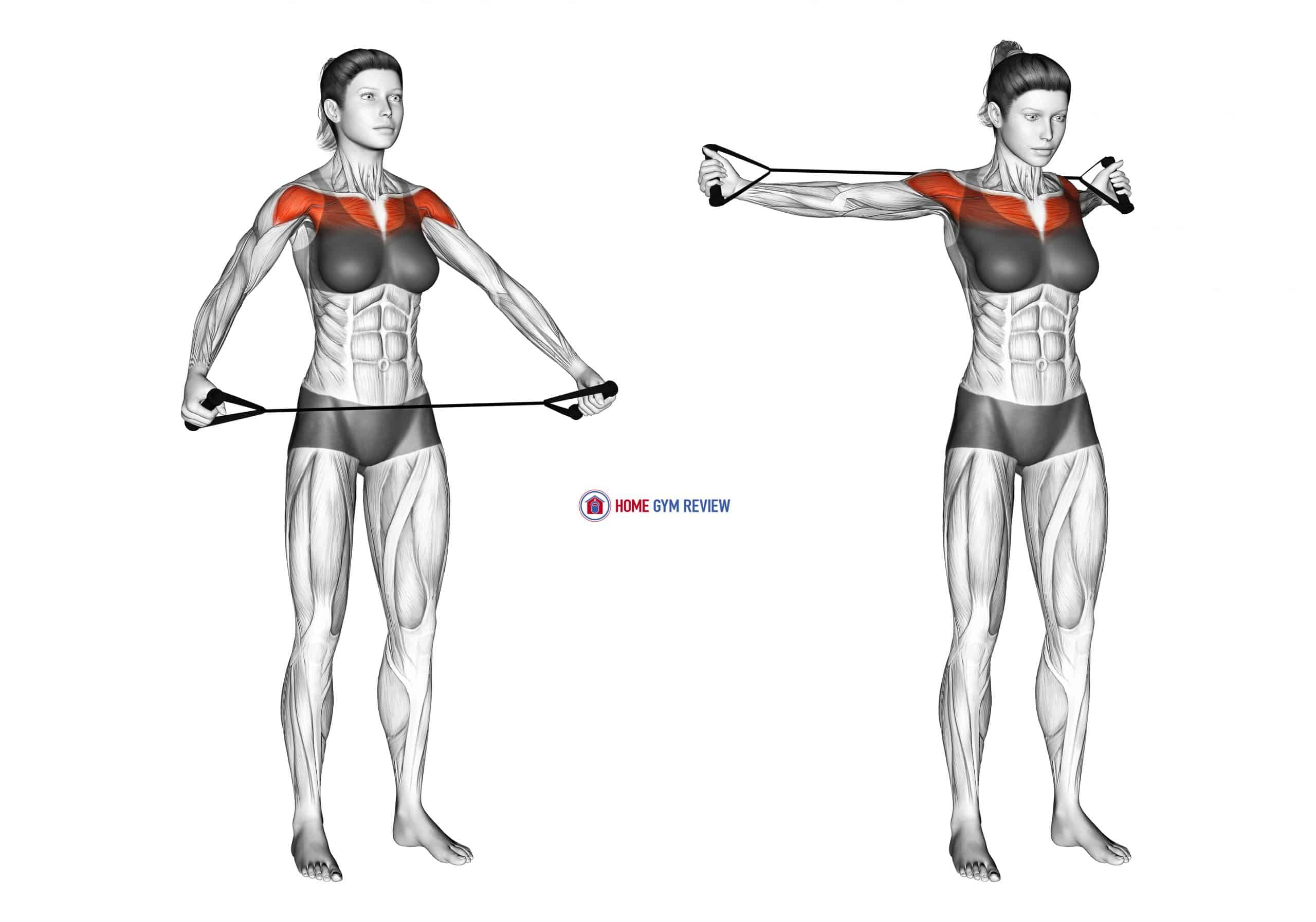 Band Warm-up Shoulder Stretch