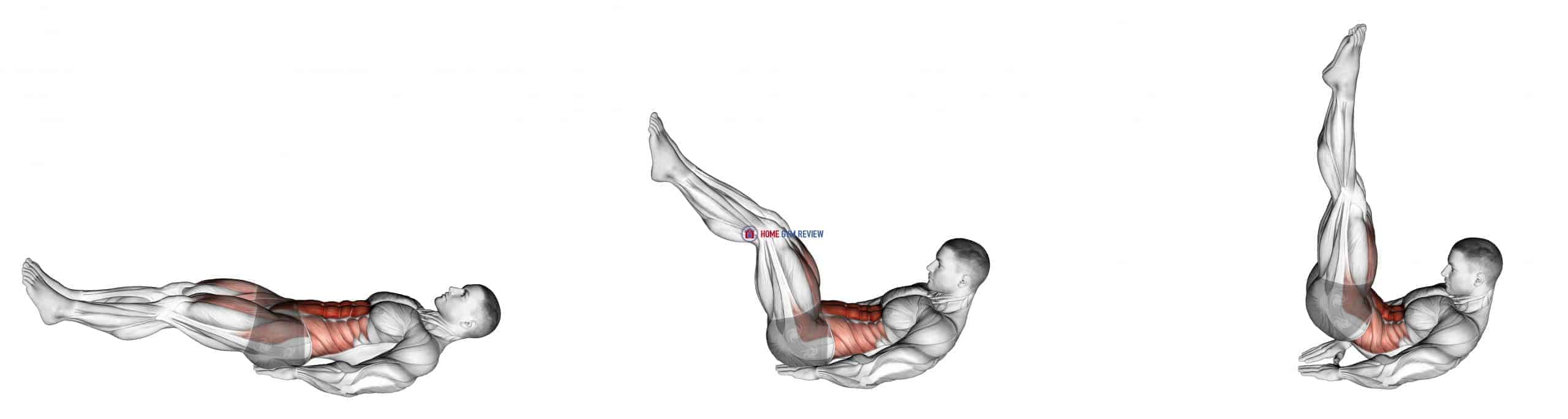 Leg Raise Hip Lift with Head up