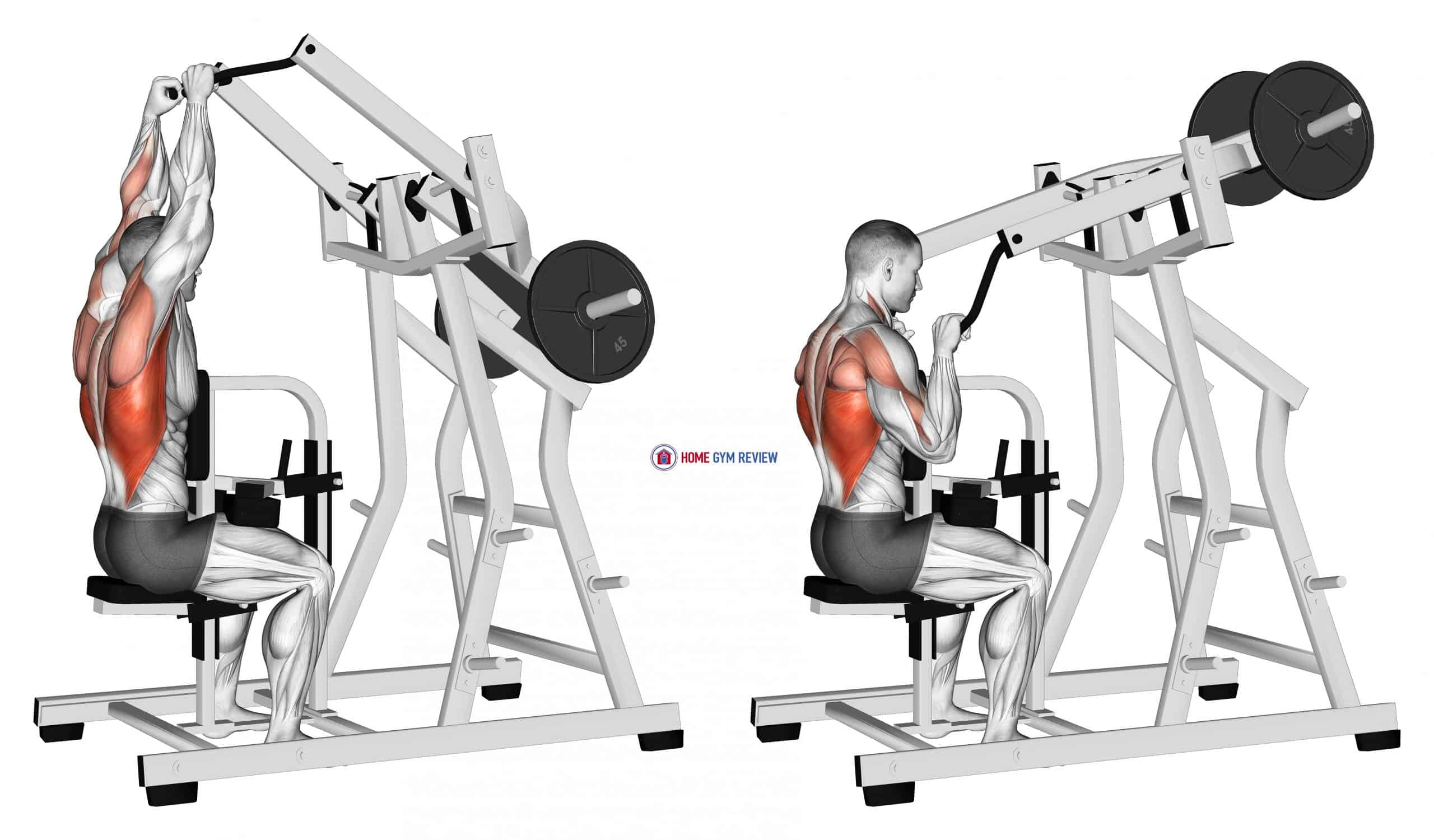Lever Lateral Pulldown (plate loaded)