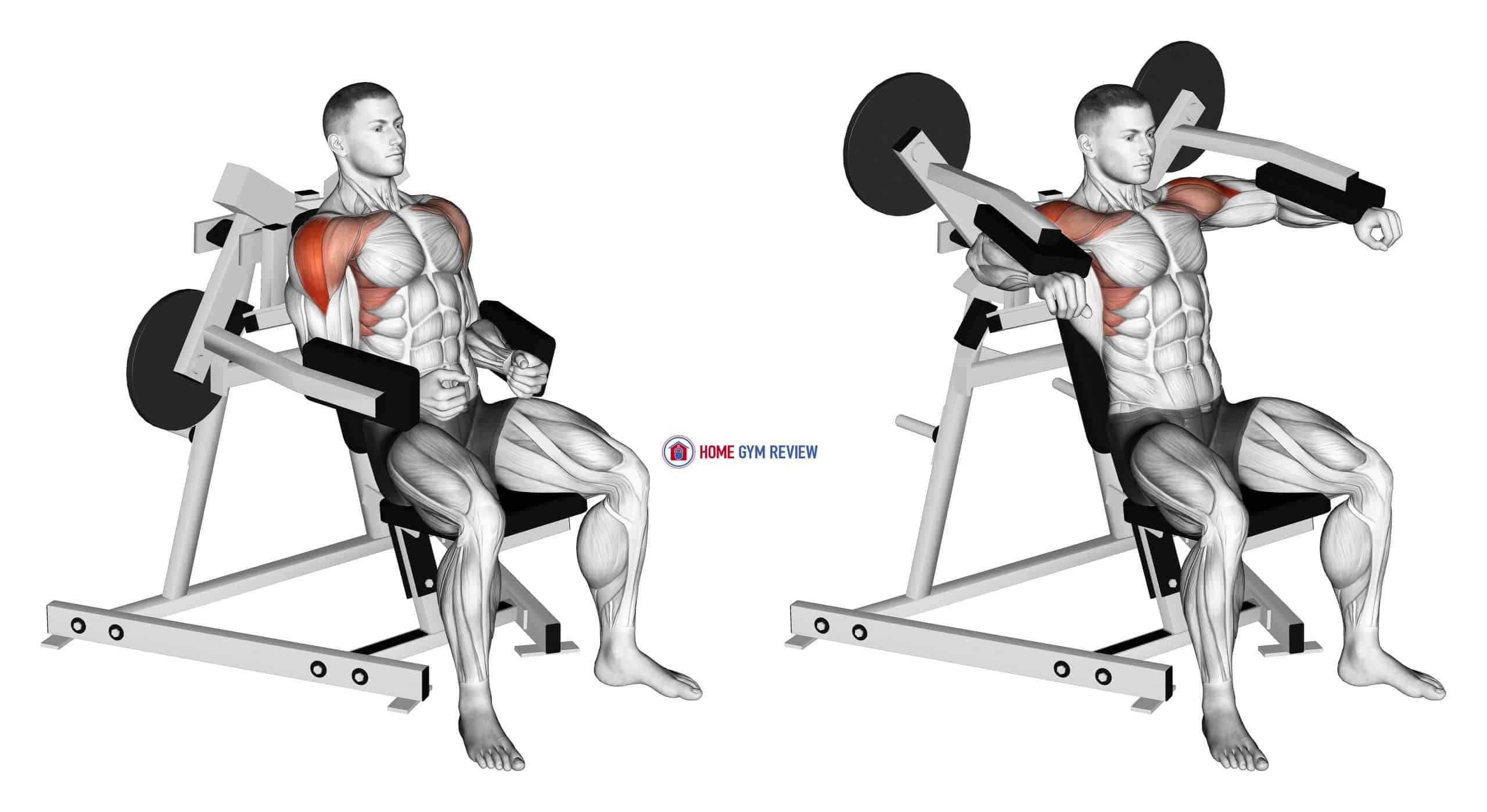 Lever Lateral Raise (plate loaded)