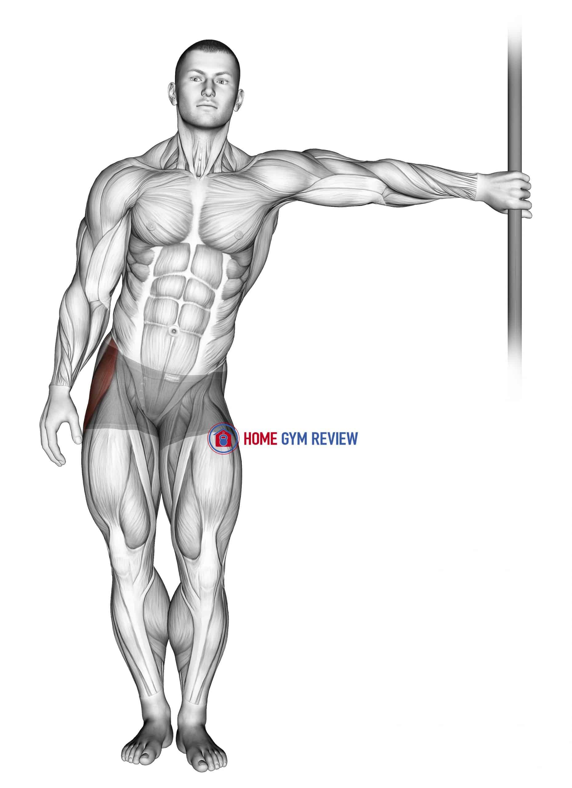 Leaning Abductor Stretch