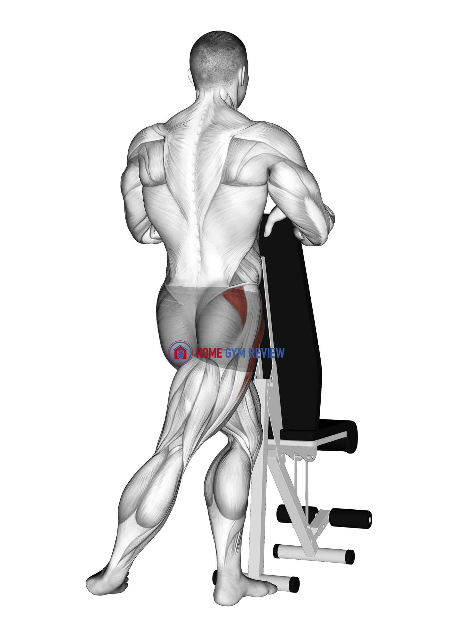 Standing Leg Under Abductor Stretch