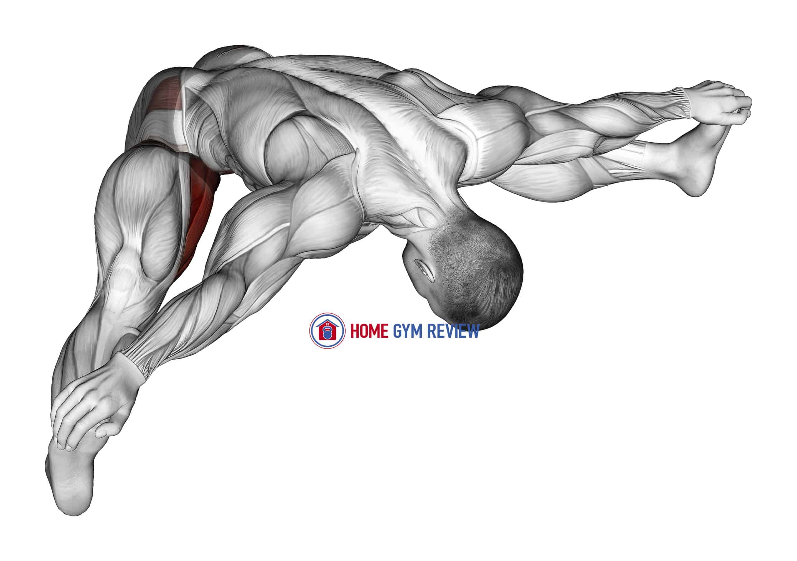 Hip Abduction With Flexion In Front Stretch