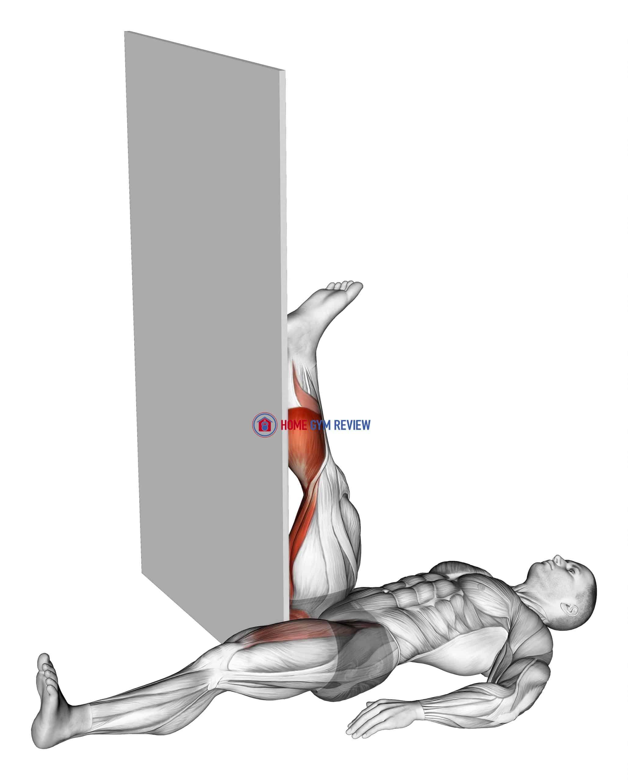 Recumbent Knee Flexor Stretch