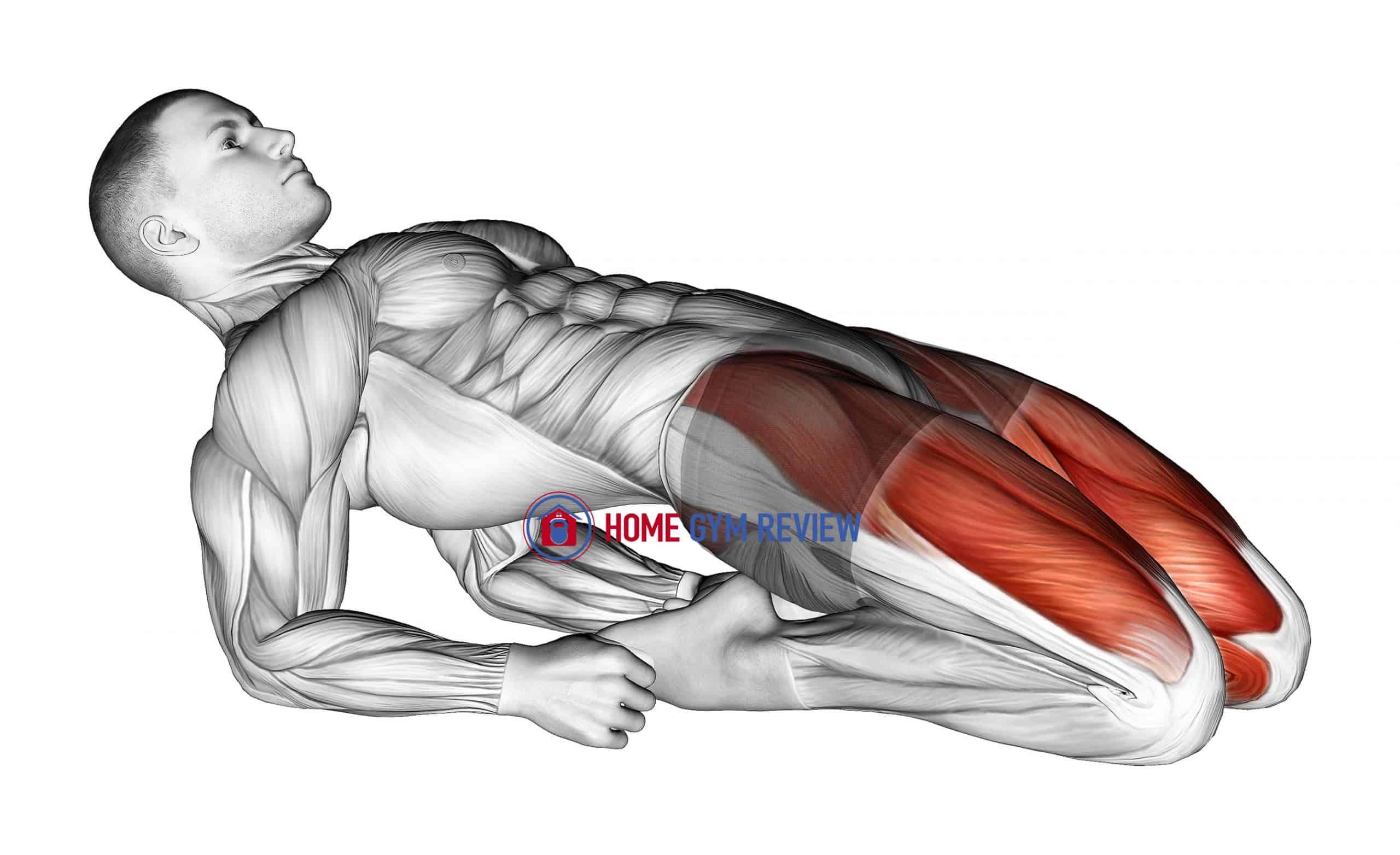 Double Lean Back Quadriceps Stretch