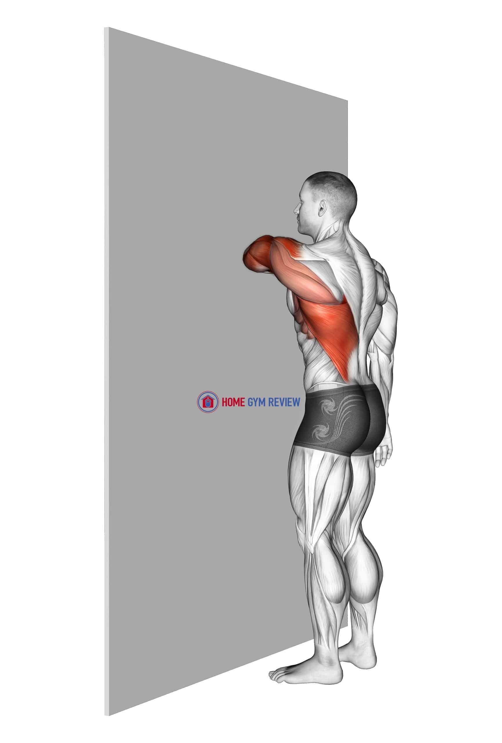 Shoulder Extensor Adductor And Retractor Stretch