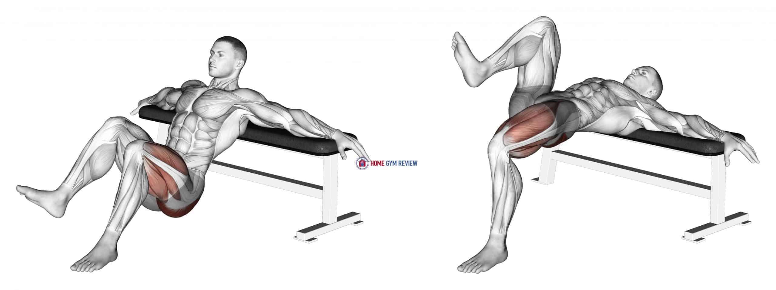 Single Leg Hip Thrusts
