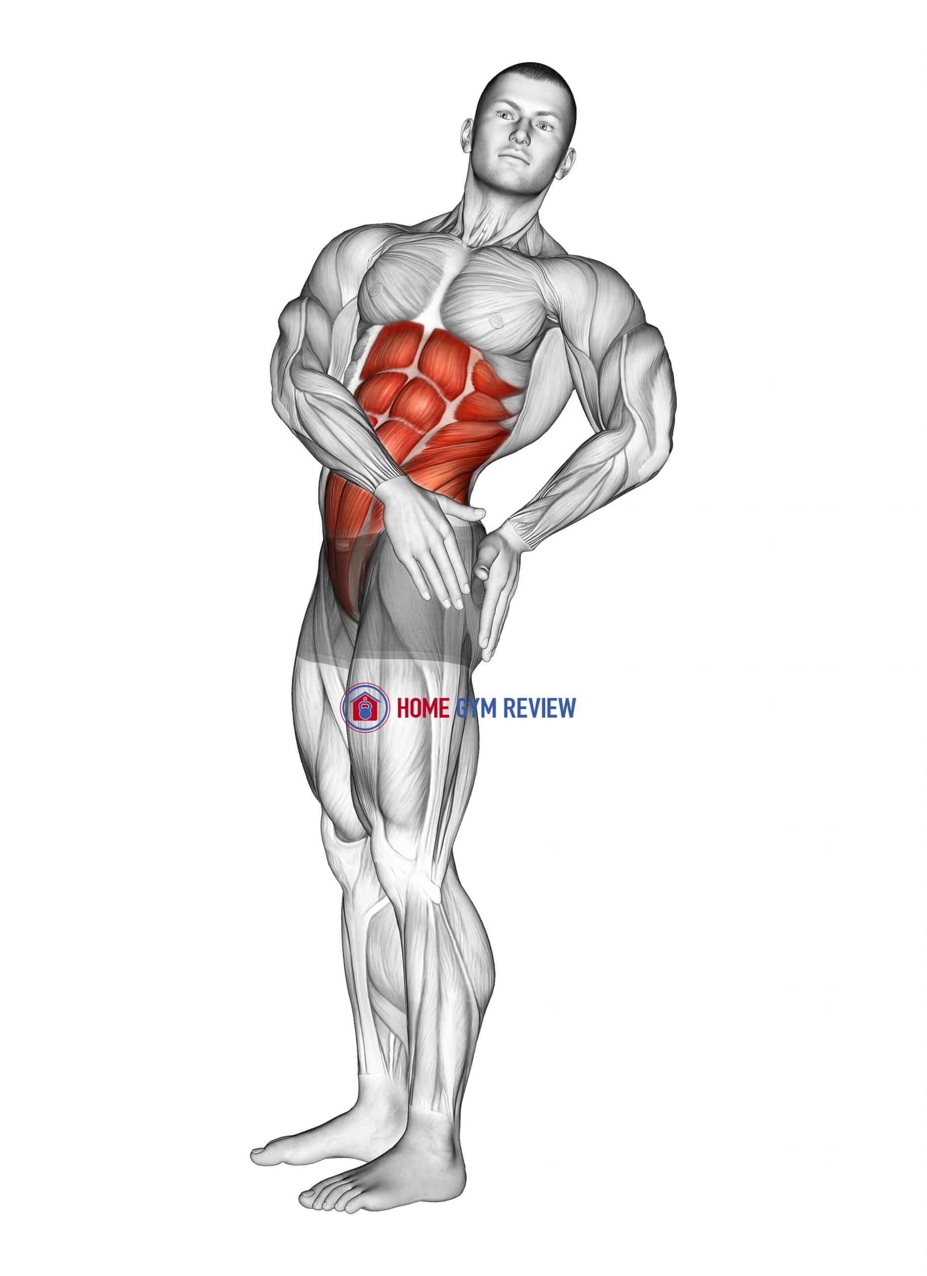 Standing Abs Rotation Stretch