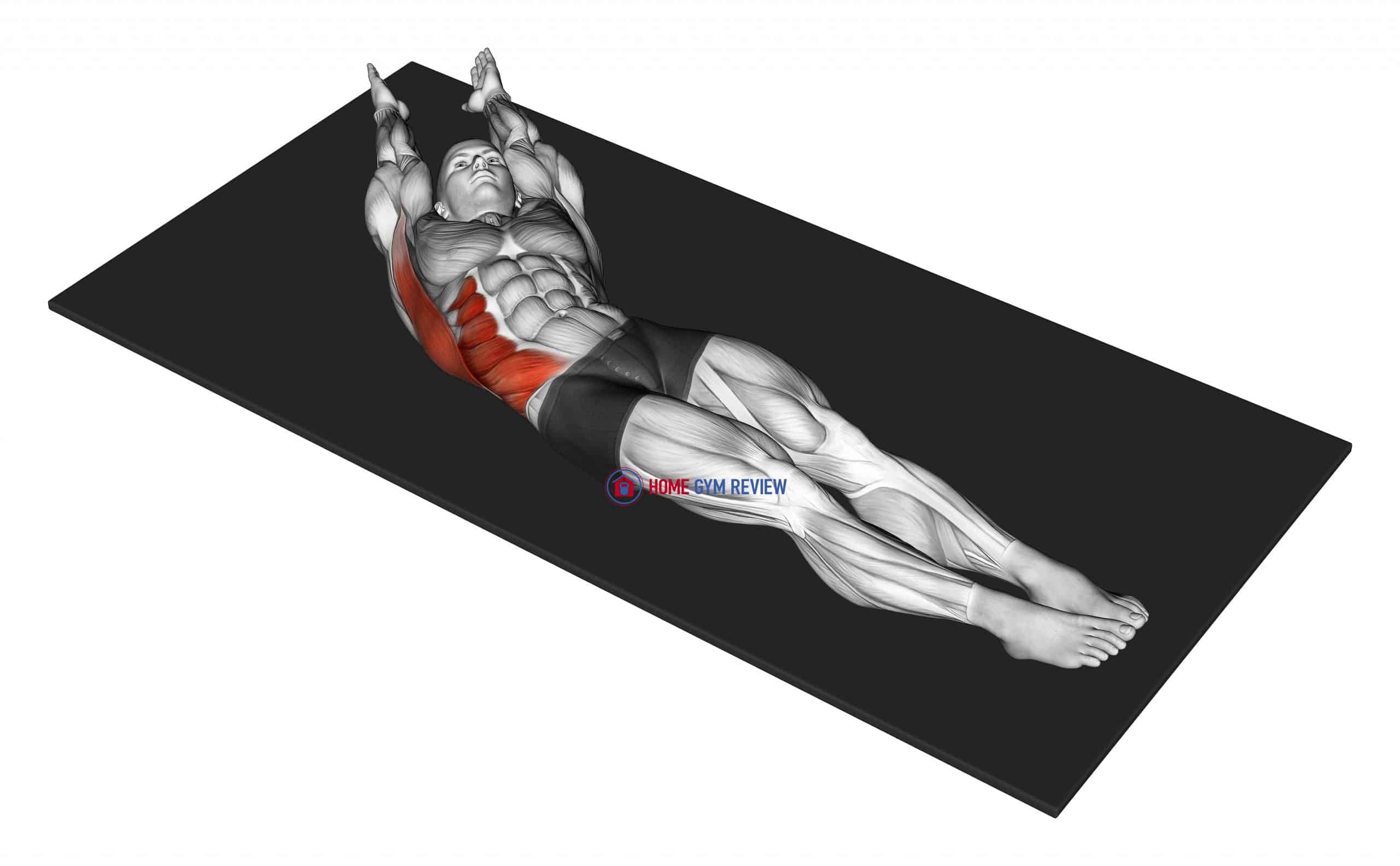 Lateral Bend Lying Down