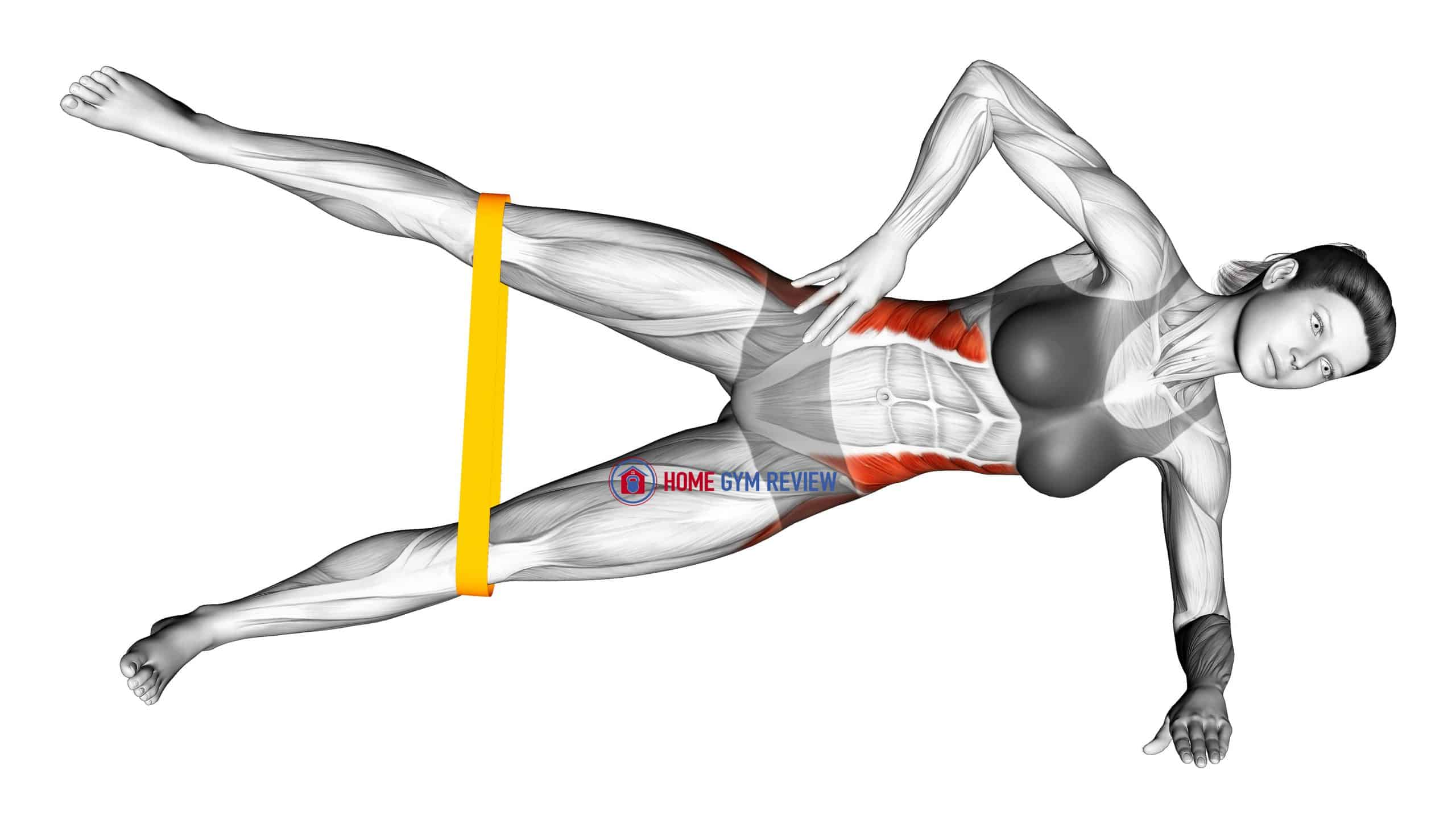 Resistance Band Side Plank