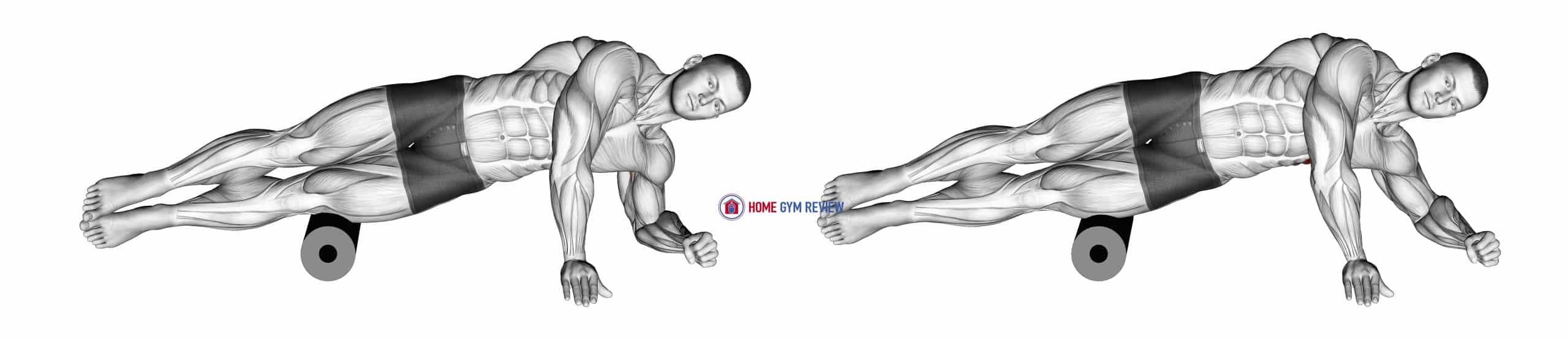 Roll Side Lat Stretch