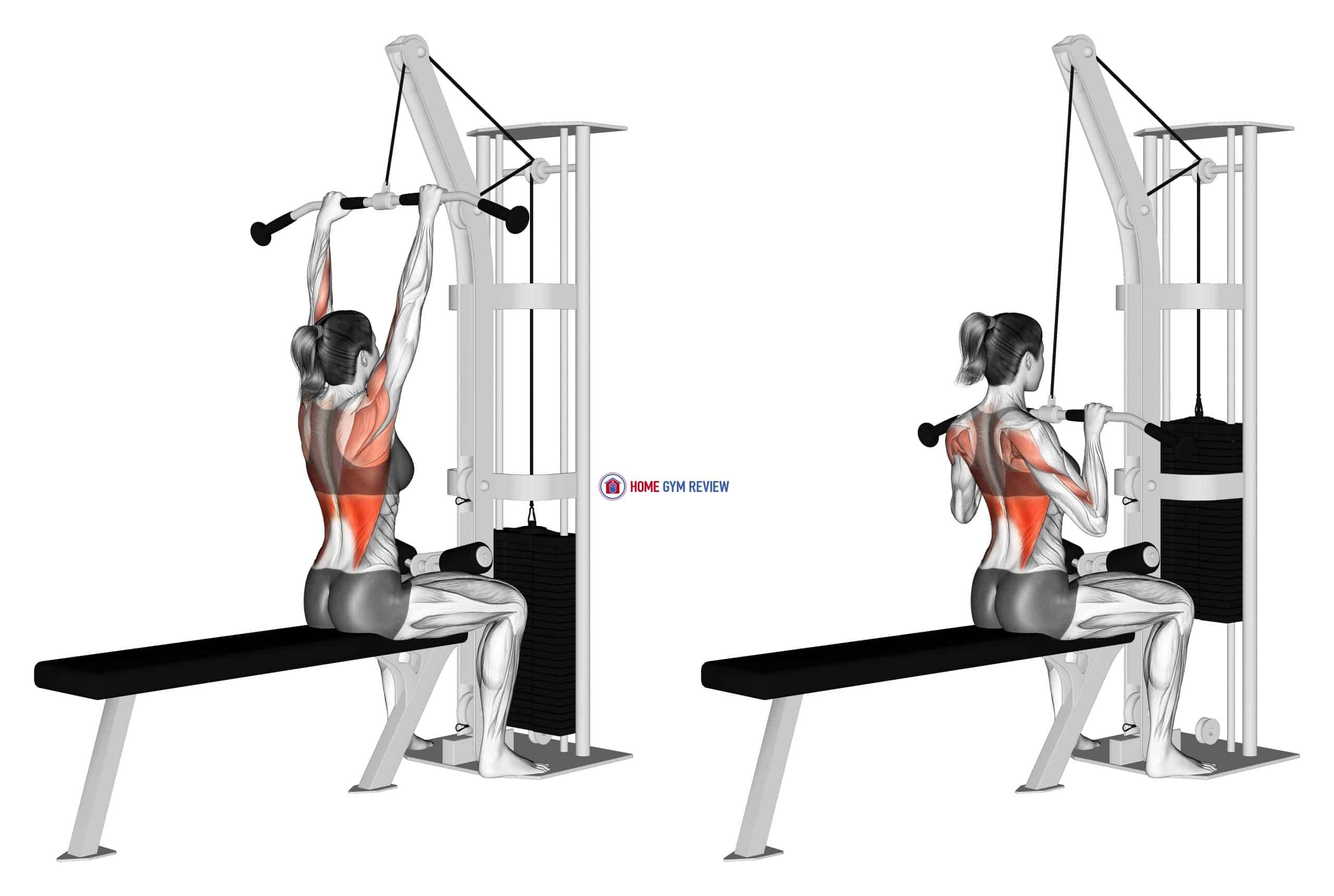 Cable Pulldown (female)
