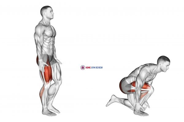 Single Leg Heel Touch Squat
