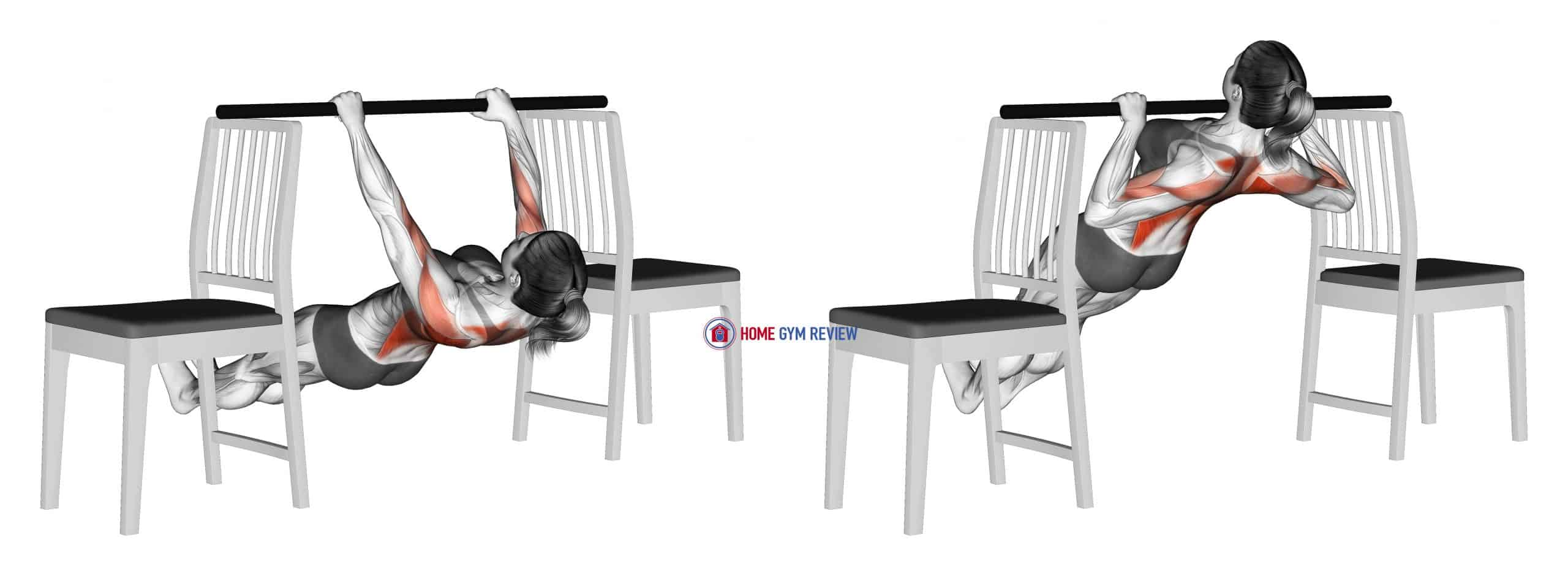 Inverted Row between Chairs (female)