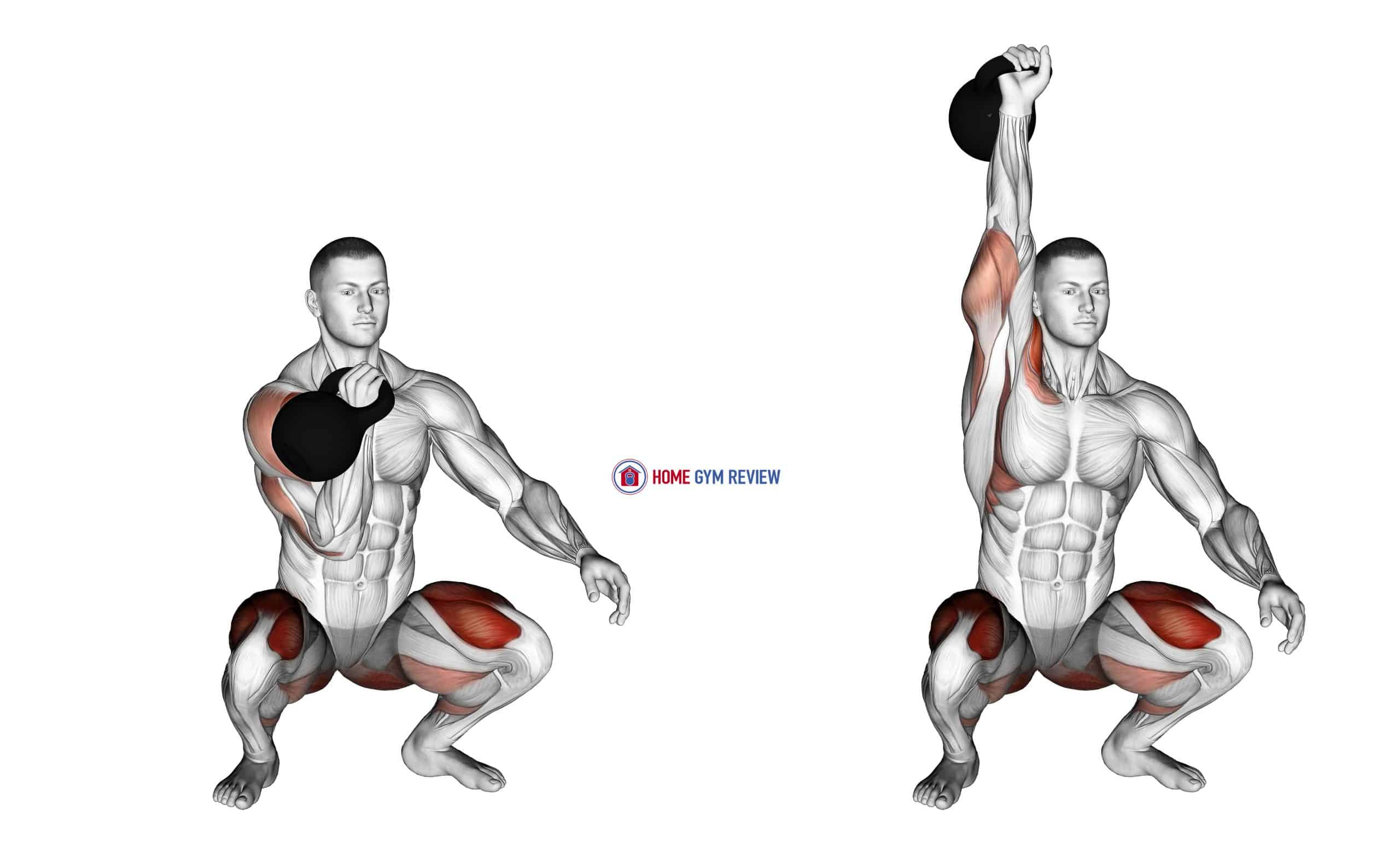 Kettlebell Sots Press
