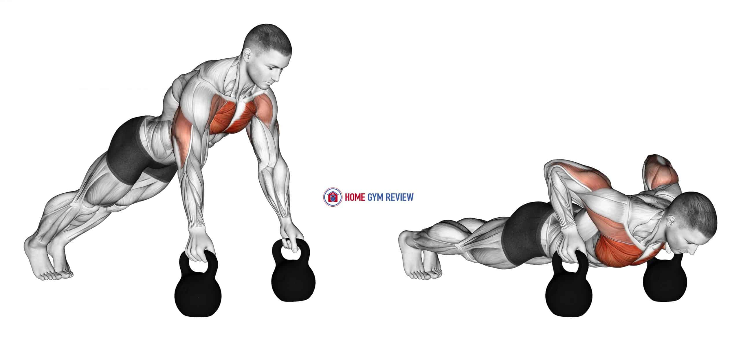 Kettlebell Deep Push-Up