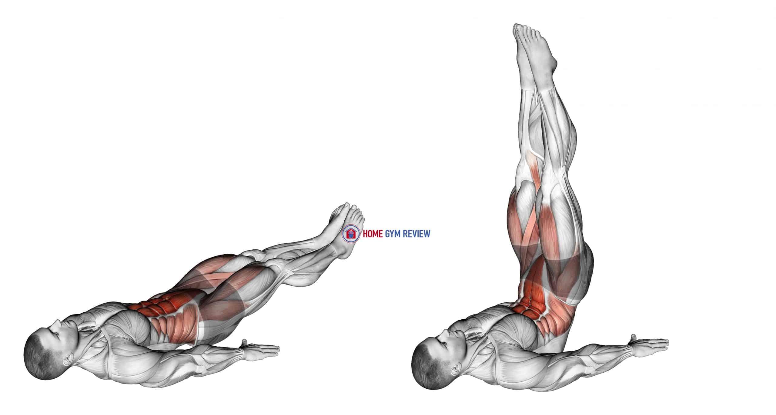Alternate Lying Floor Leg Raise (male)