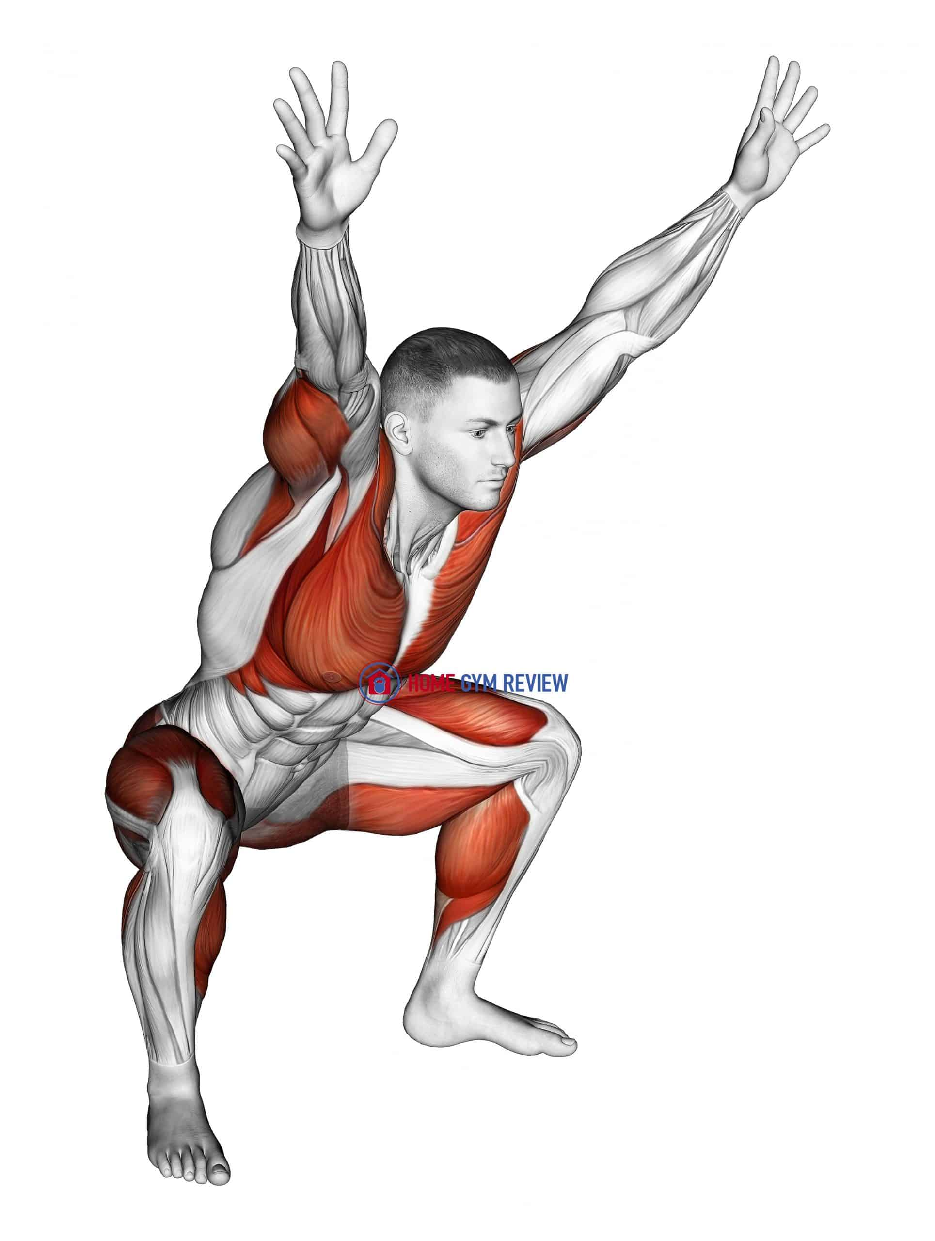 Sitting Sumo with Arms-Up Mobility Stretch