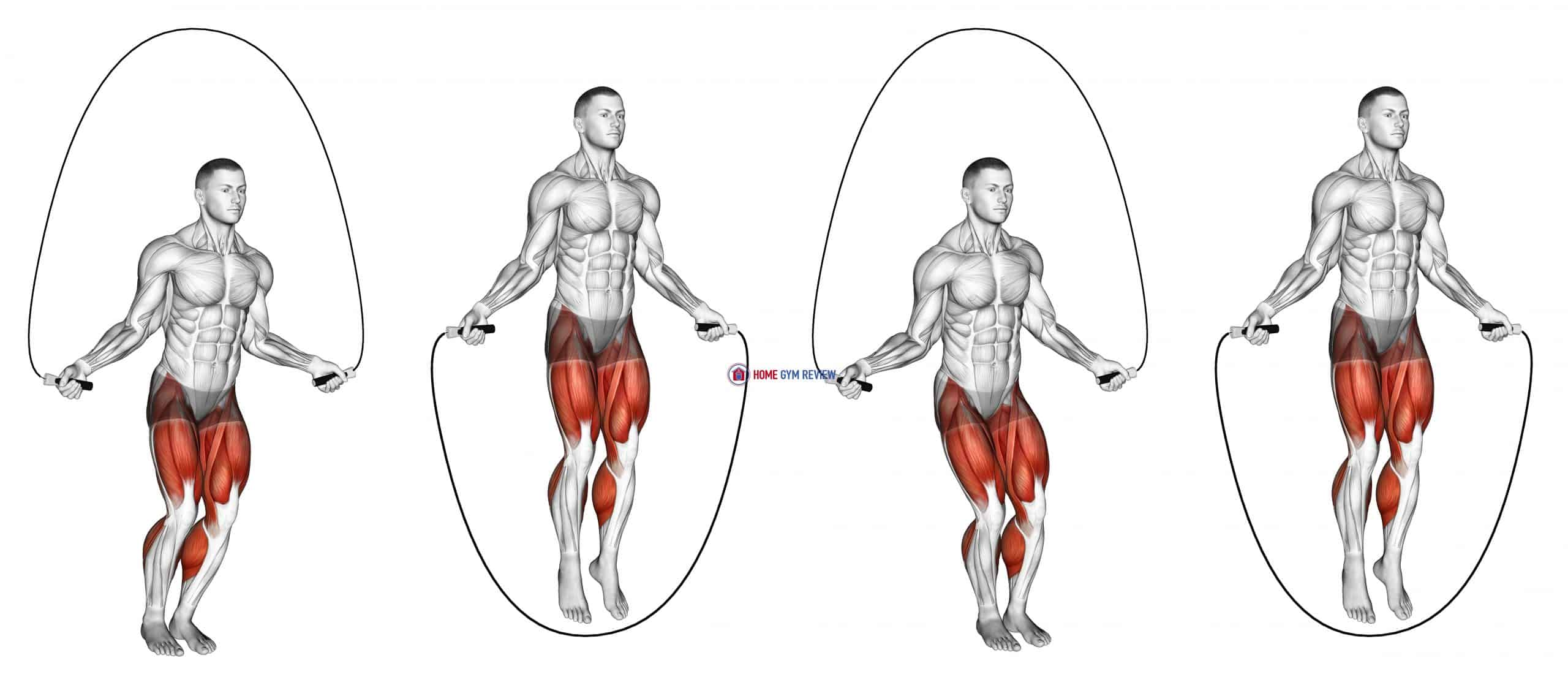 Side-to-Side Jump Rope (male)
