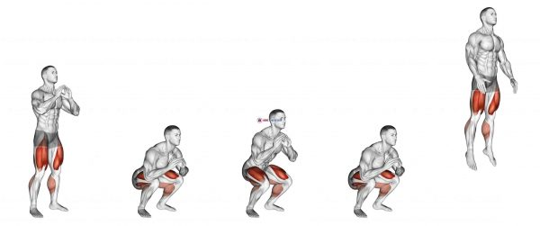 Double Jump Squat